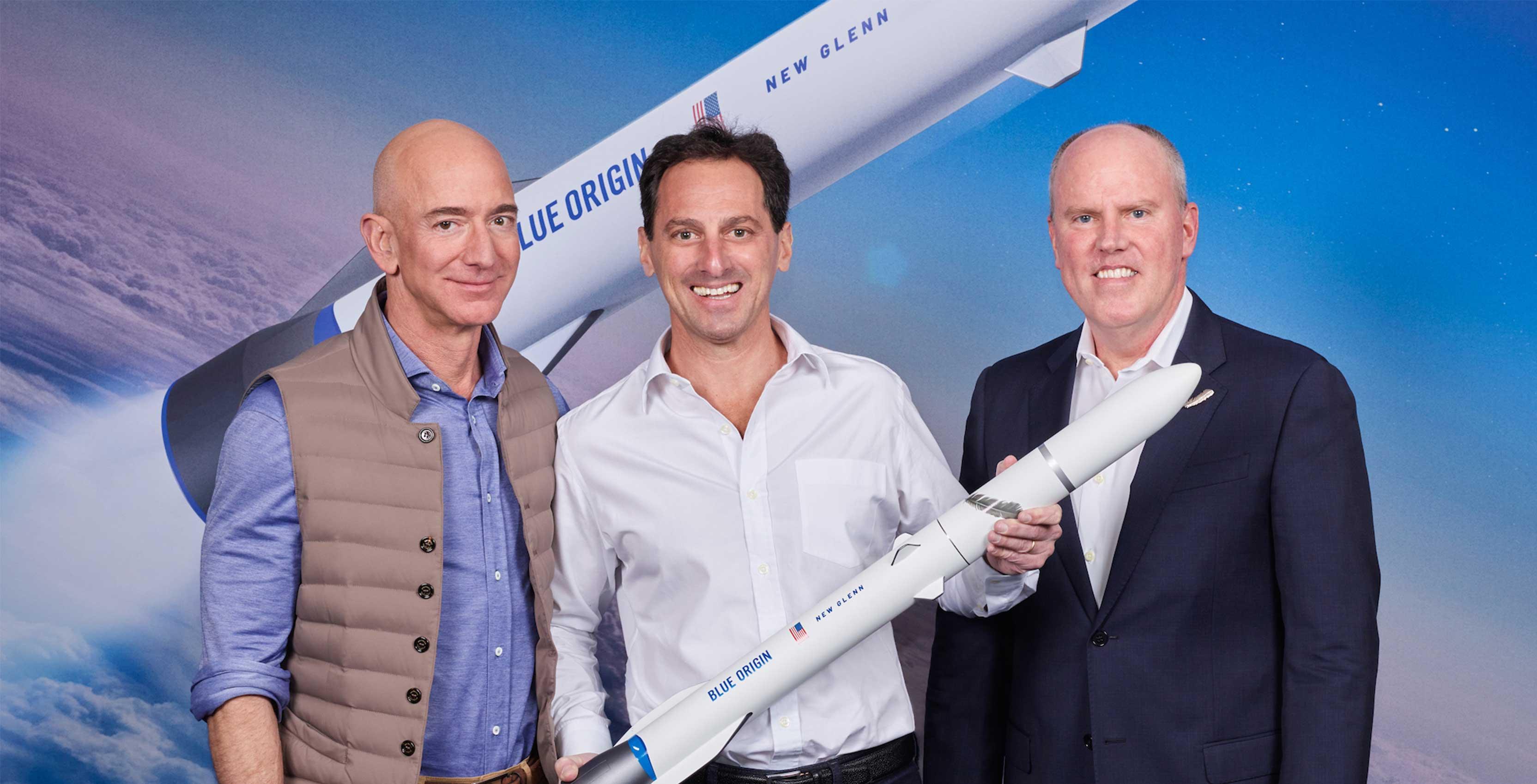 Jeff Bezos' Blue Origin rocket to launch Canadian Telesat satellites