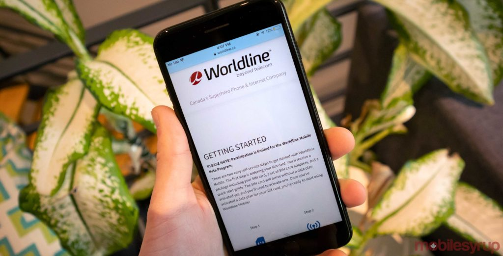 Mobile data-only beta offer from Worldline gets users 5GB of data for $20