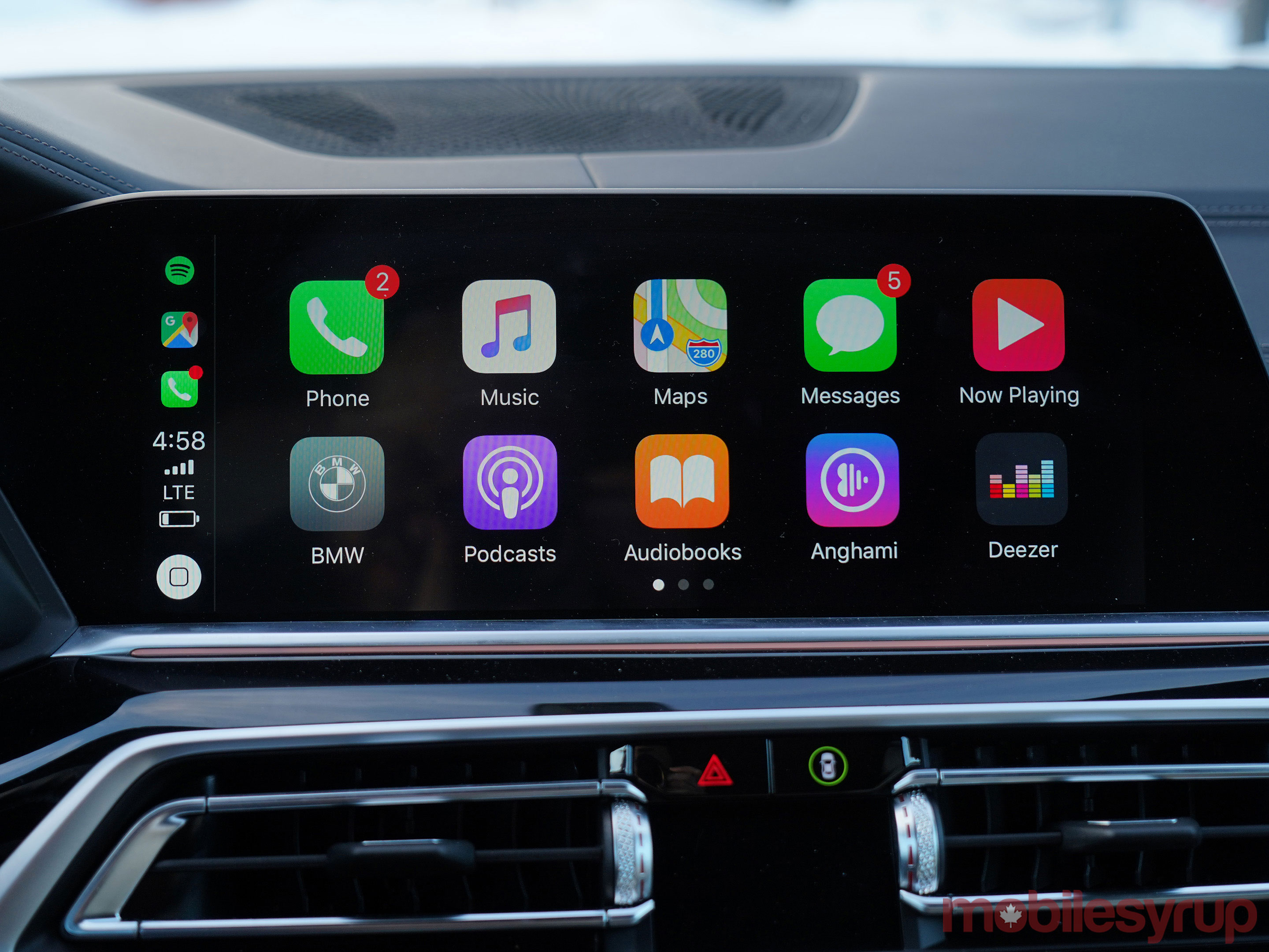 BMW iDrive CarPlay