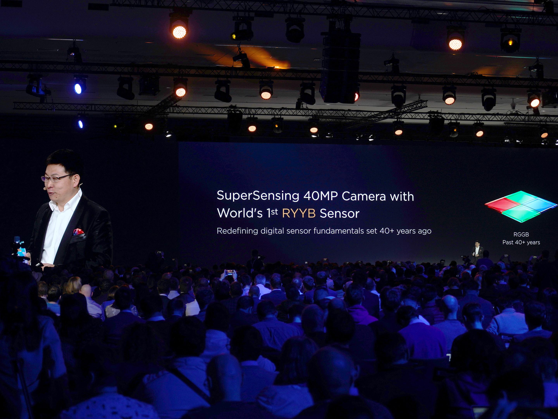 Huawei P30 RYYB presentation
