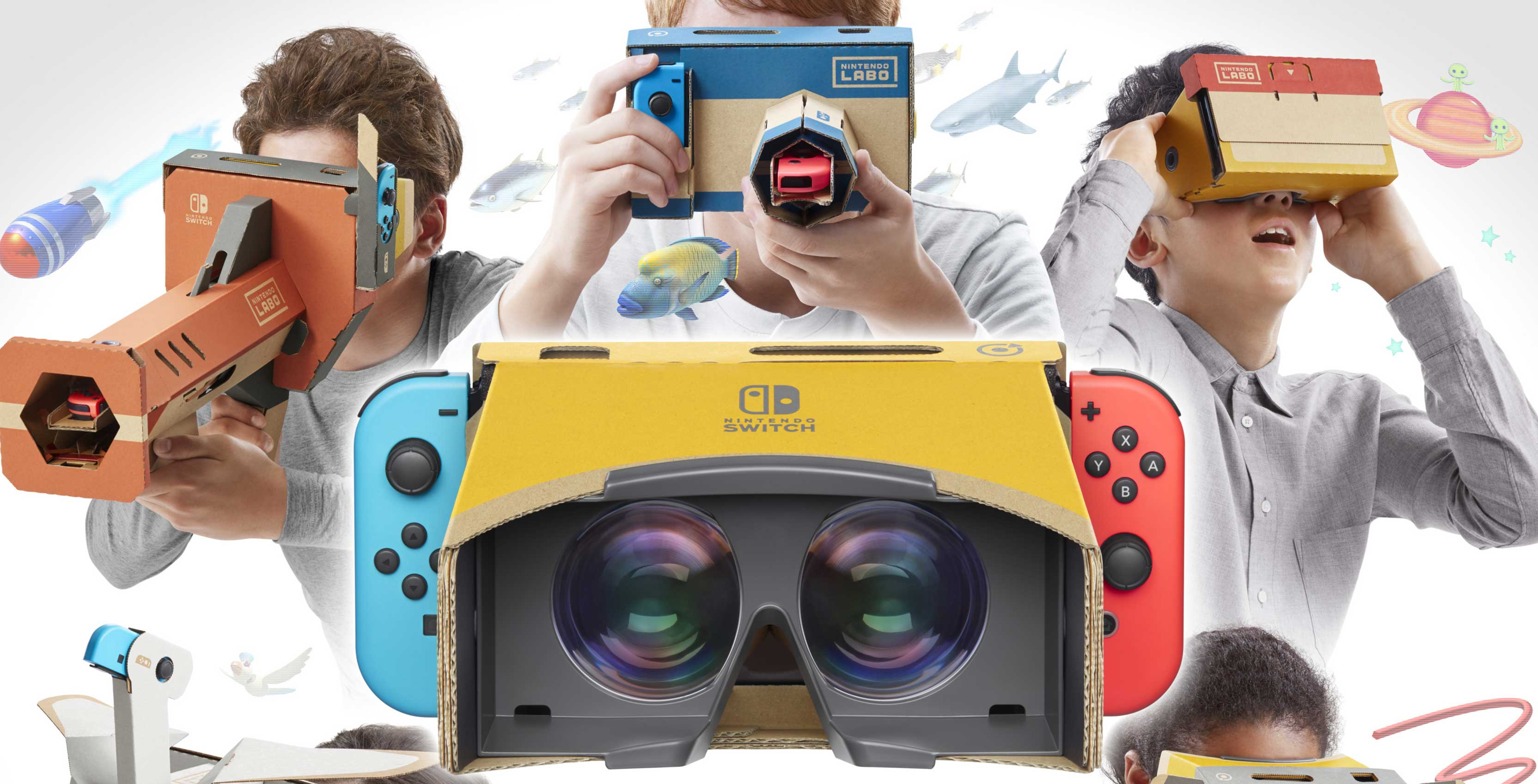Flipboard Nintendo Files Patent For New Labo Vr Headset For The Switch-3779