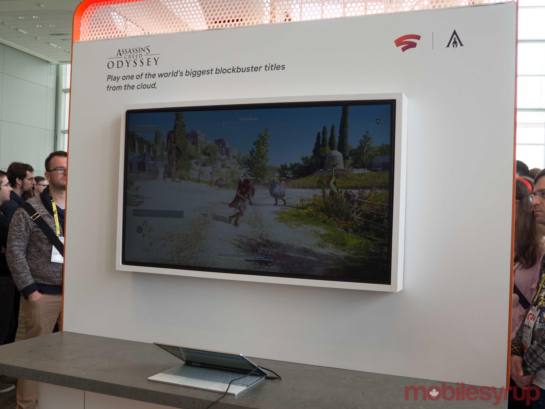 Assassin's Creed Odyssey Google Stadia