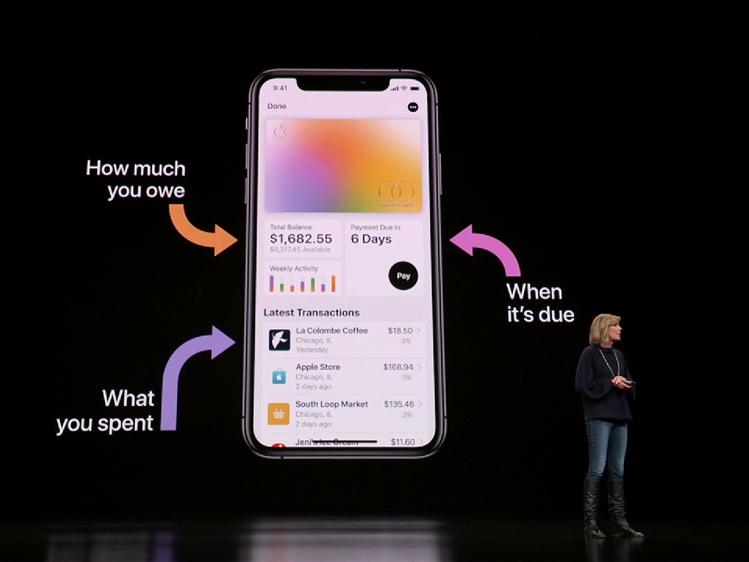 Introducing Apple Card, a new kind of credit card created by Apple