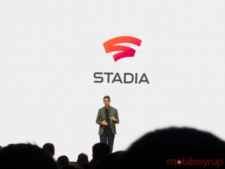 Google Stadia Sundar Pichai