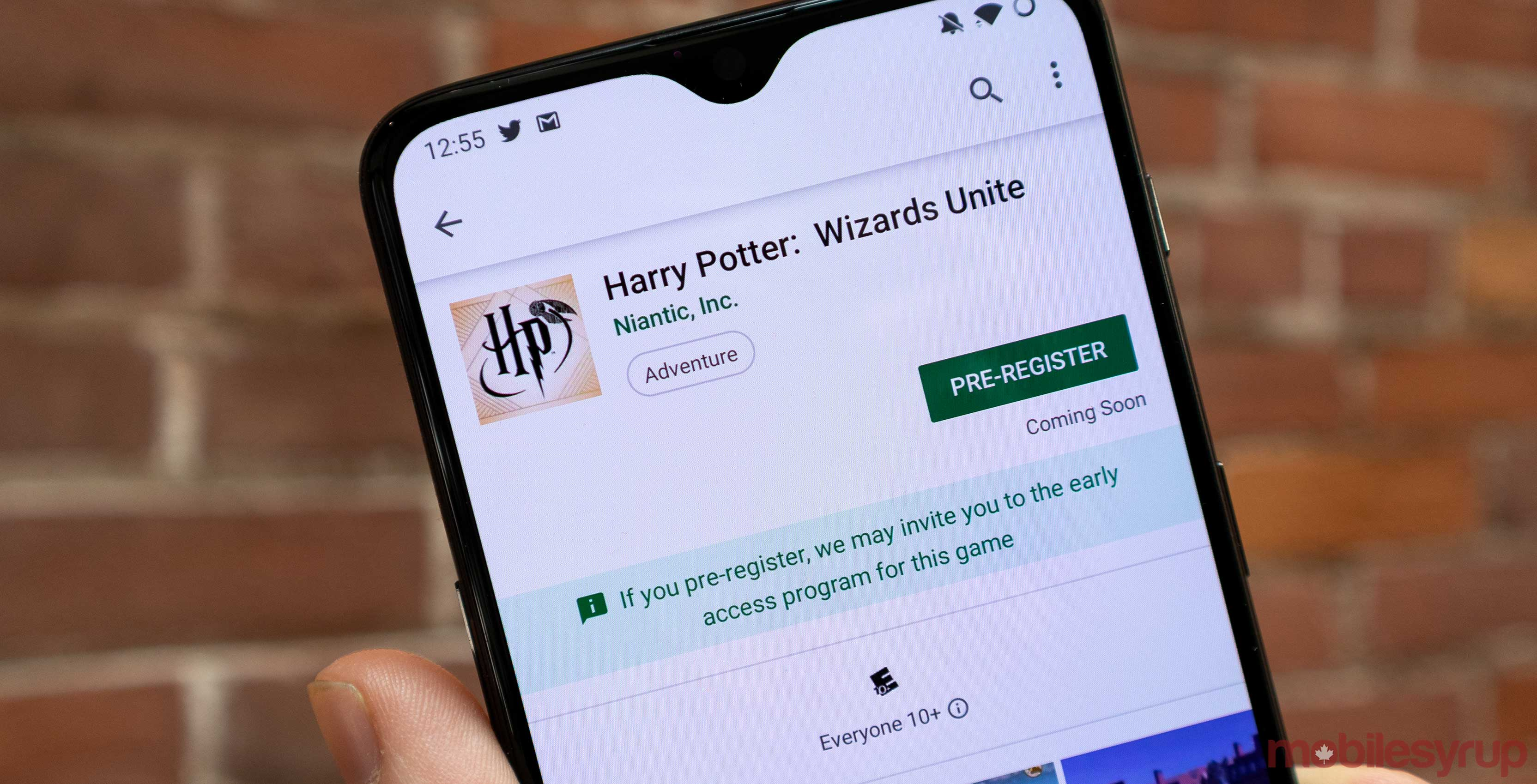 Niantic opens up name reservations for Harry Potter: Wizards Unite