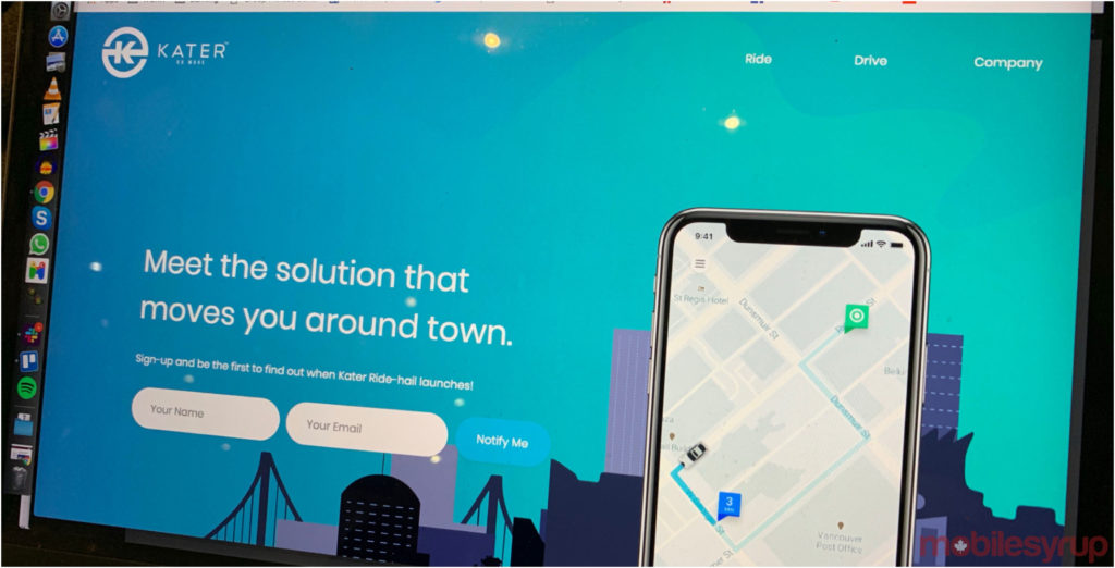Ride-sharing company Kater to launch beta testing in Vancouver on March 30