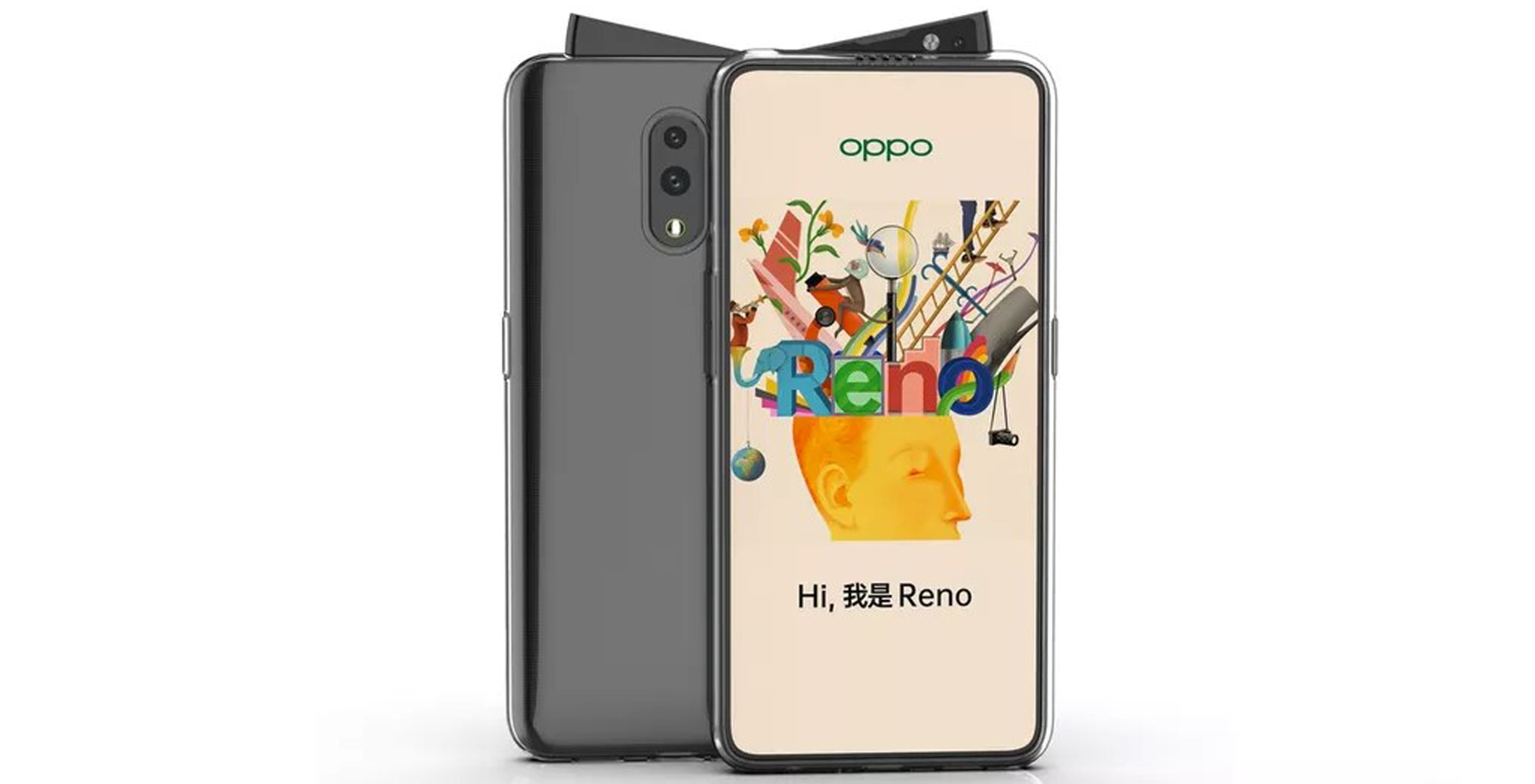 Oppo Reno leaks out with unique pop-up camera design