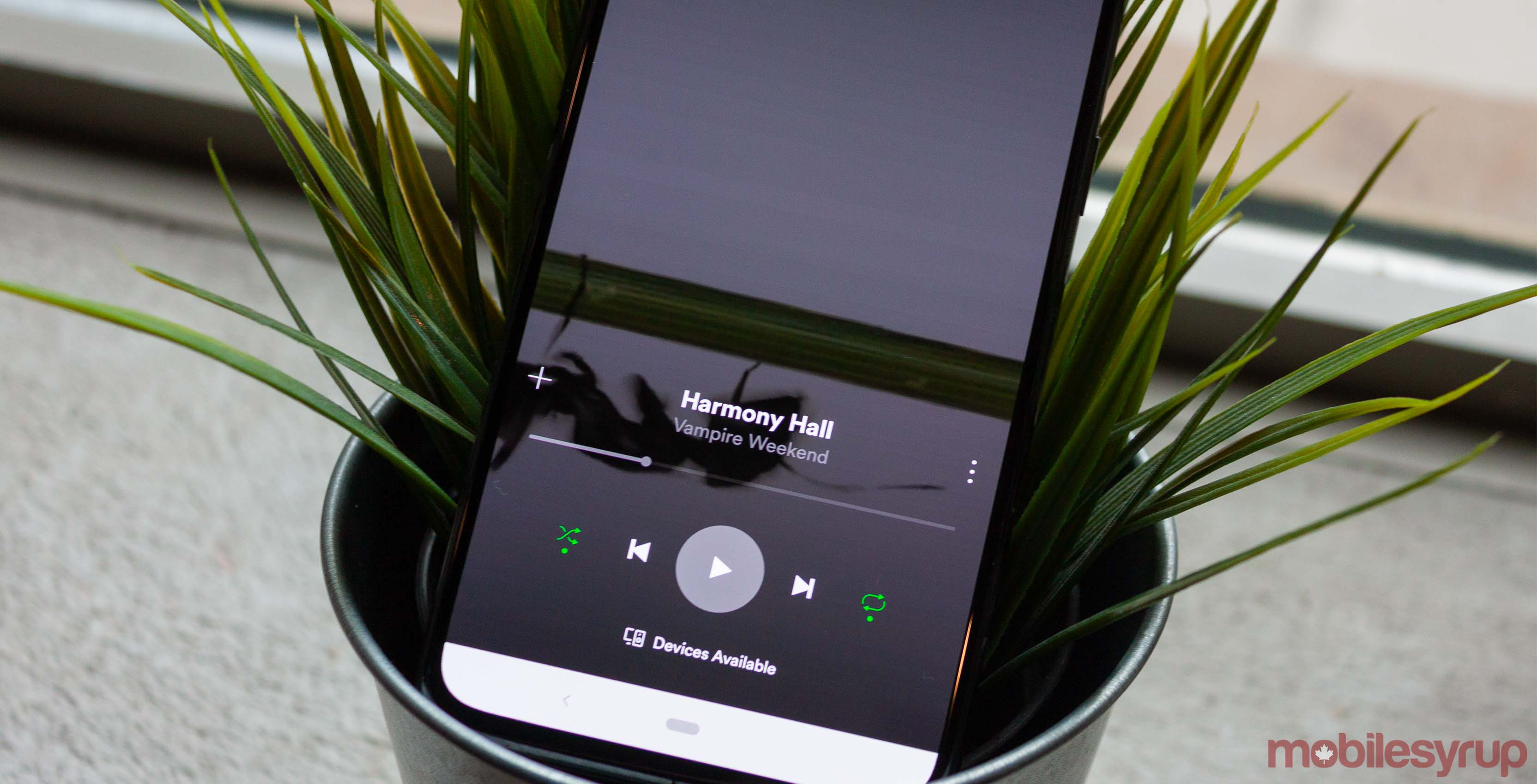 Spotify is testing an option to disable 'Canvas' video