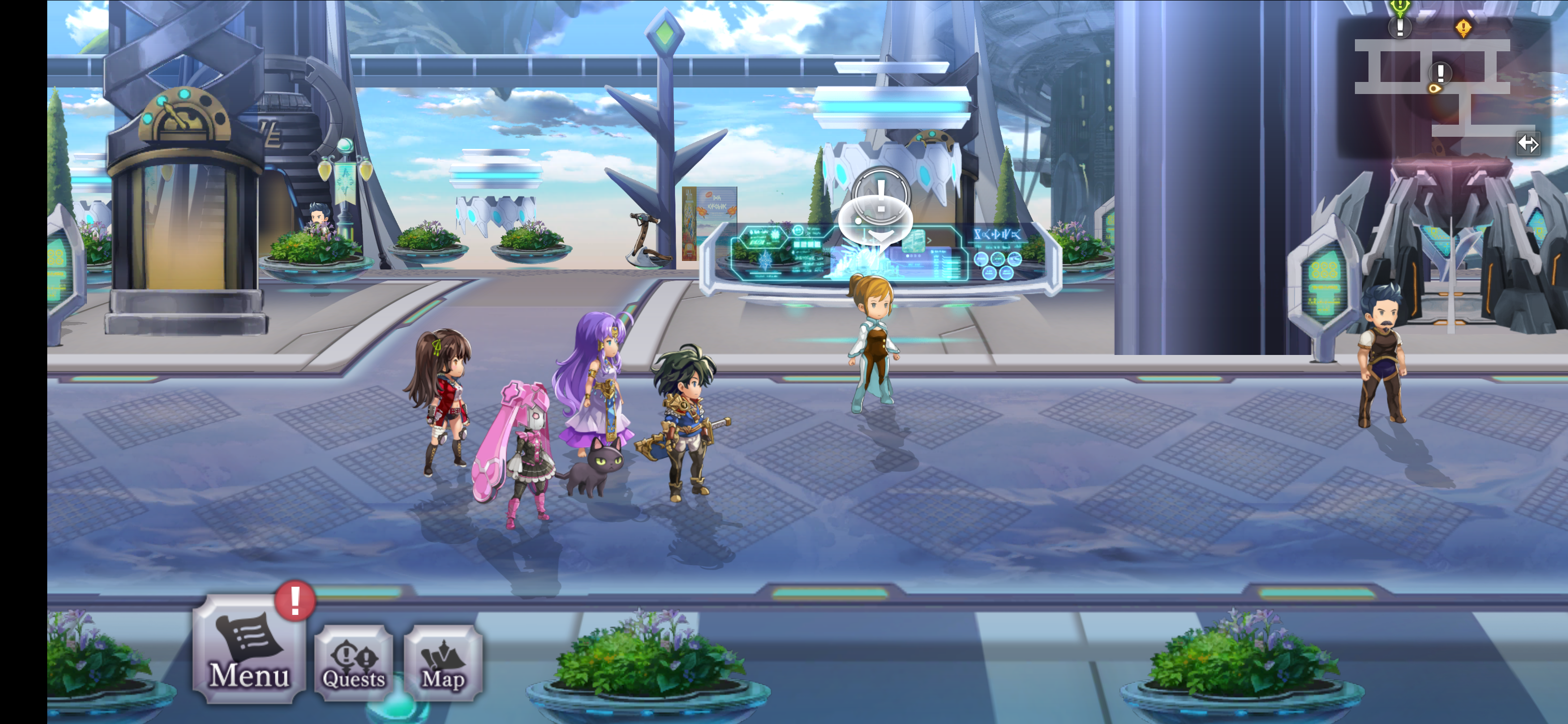 Another Eden delivers the classic turn-based RPGs experience to
