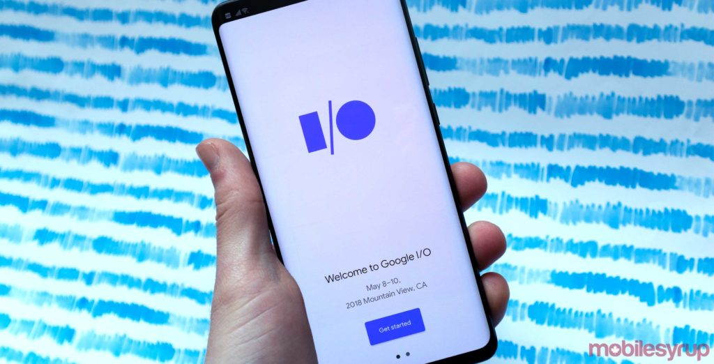 Google I/O 2019 app gets dark mode and AR update