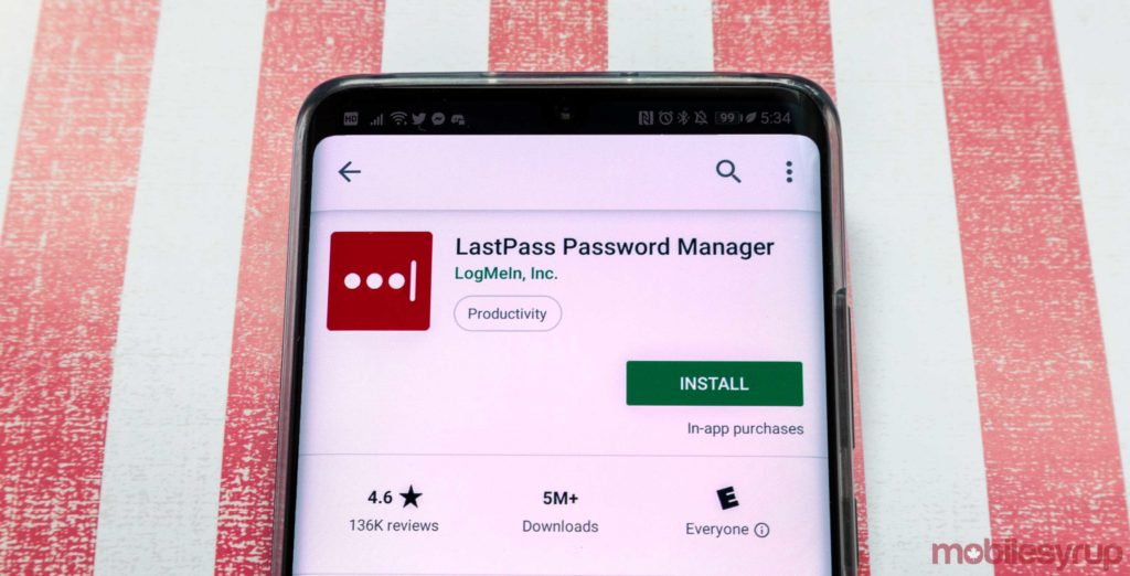 Six months of LastPass Premium free with educational email address