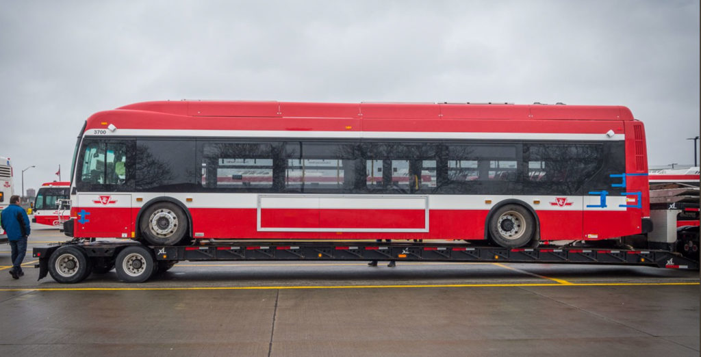 Federal government invests $2.75 billion in electric bus push
