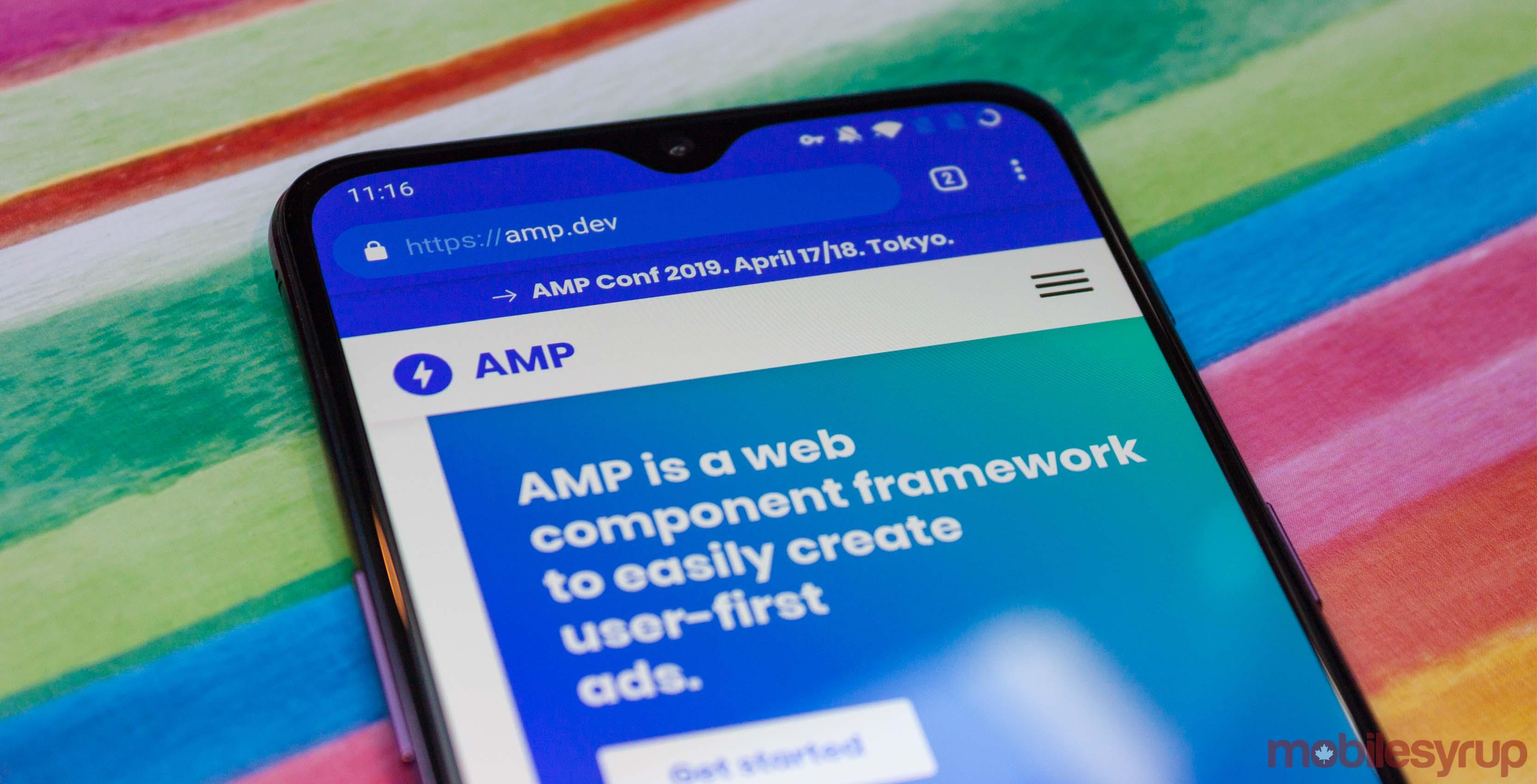 AMP header