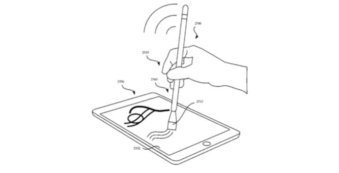 Apple could be working on Apple Pencil paintbrush with haptic feedback