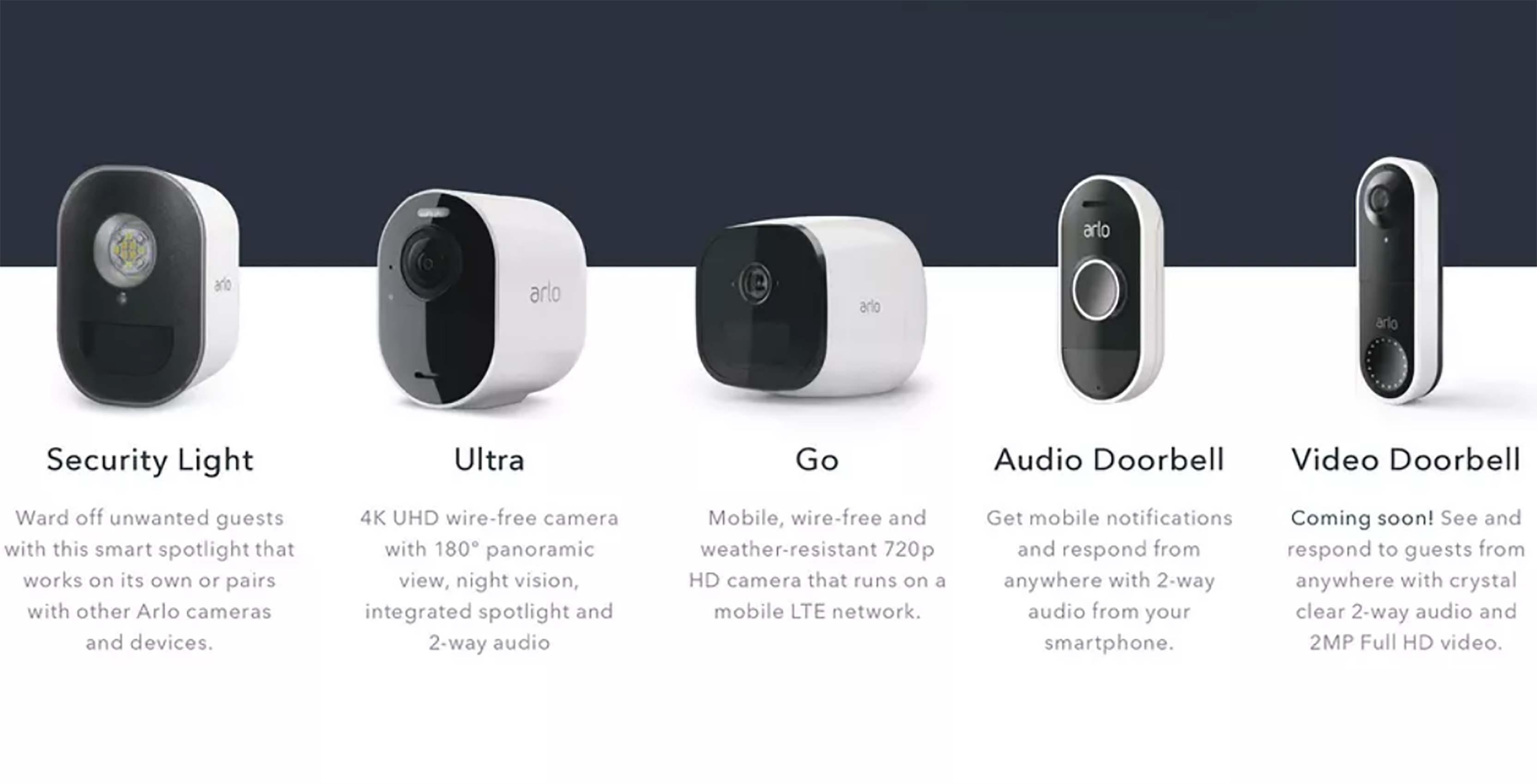 Arlo smart video doorbell