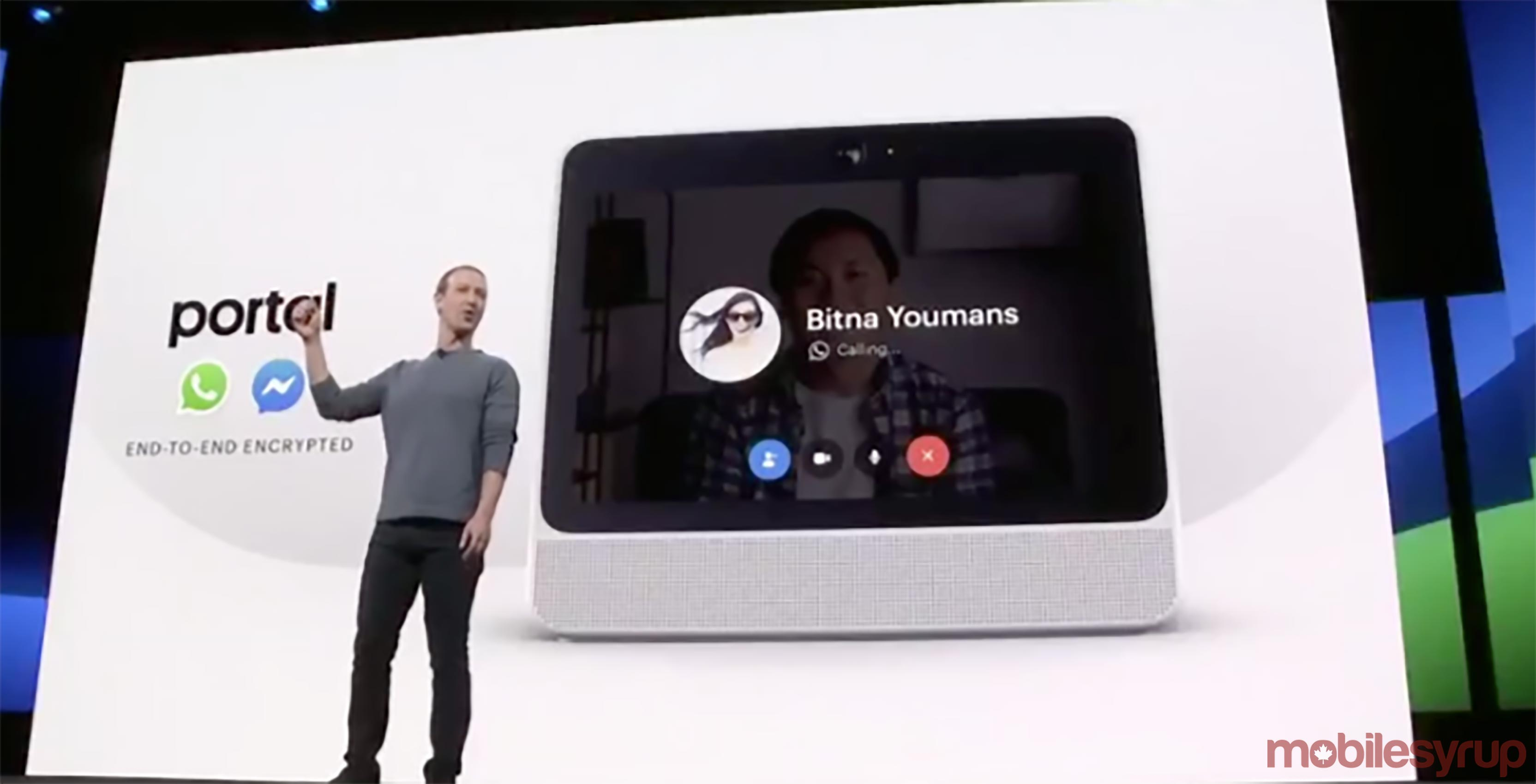 New versions of Facebook's 'Portal' devices coming this fall