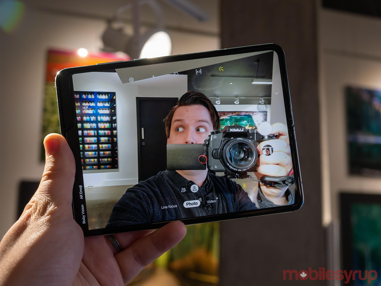 Galaxy Fold camera