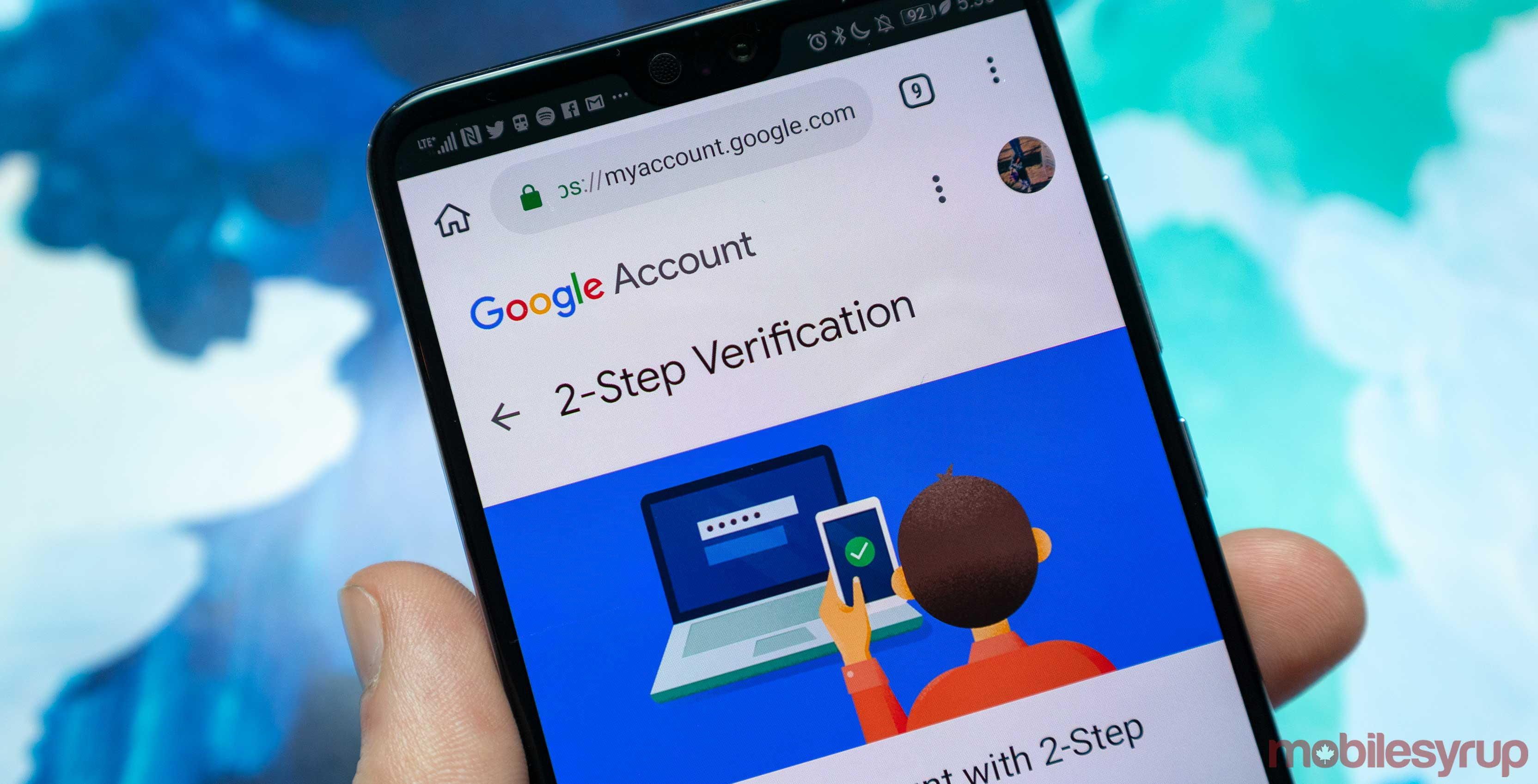 Your Android phone's volume key can unlock your Google account
