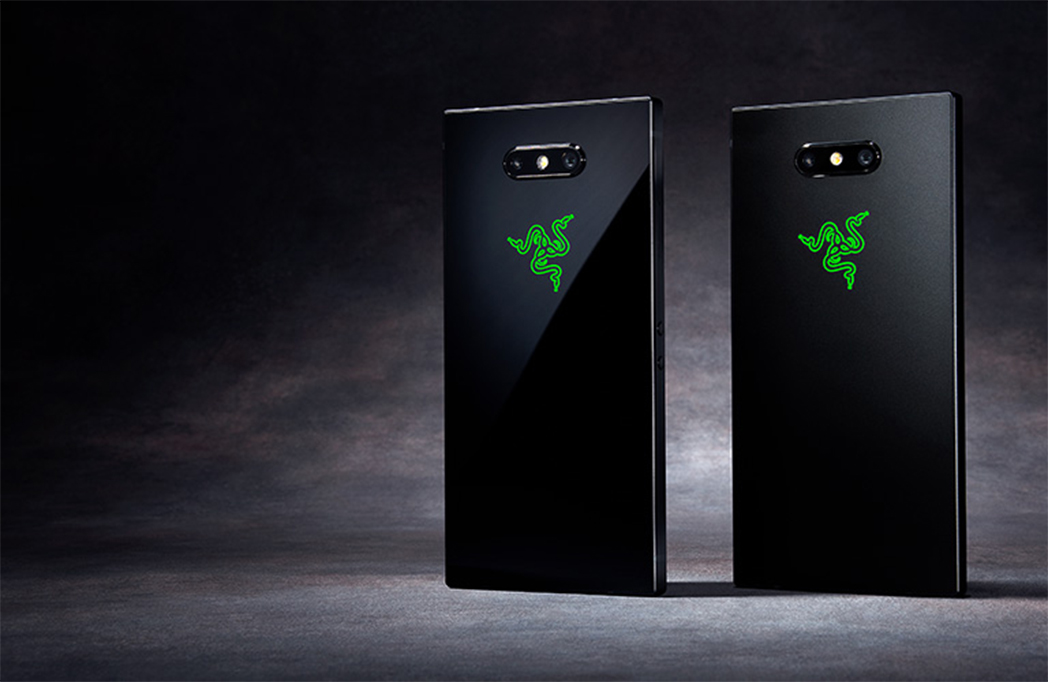 Razer Phone 2 in Satin Black and Mirror Black