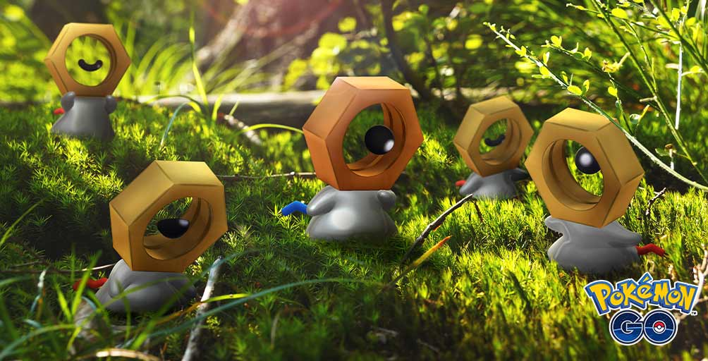 Shiny Meltan will be available in Mystery Boxes for a limited time