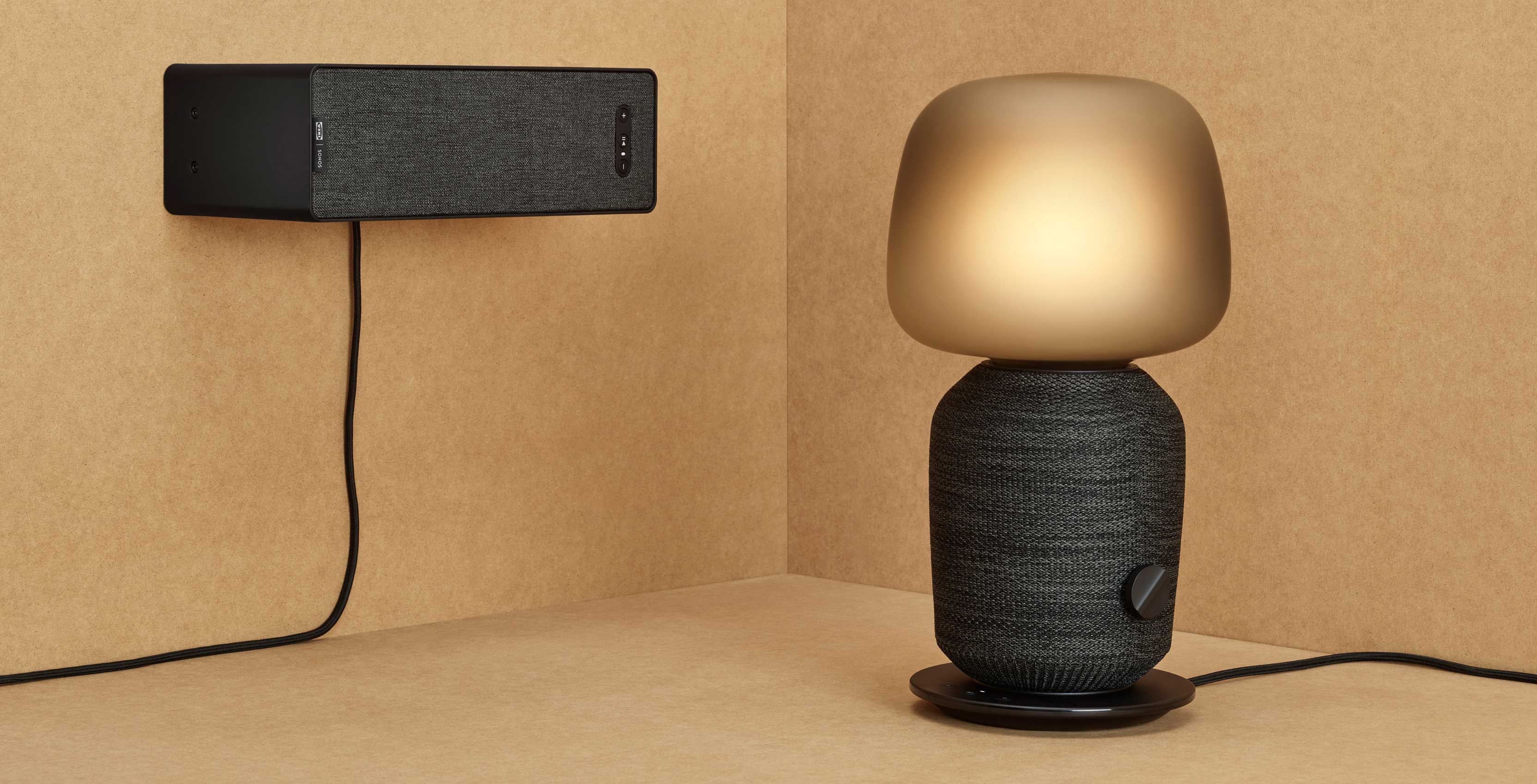 The Ikea Symfonisk range includes a bookshelf and lamp speakers