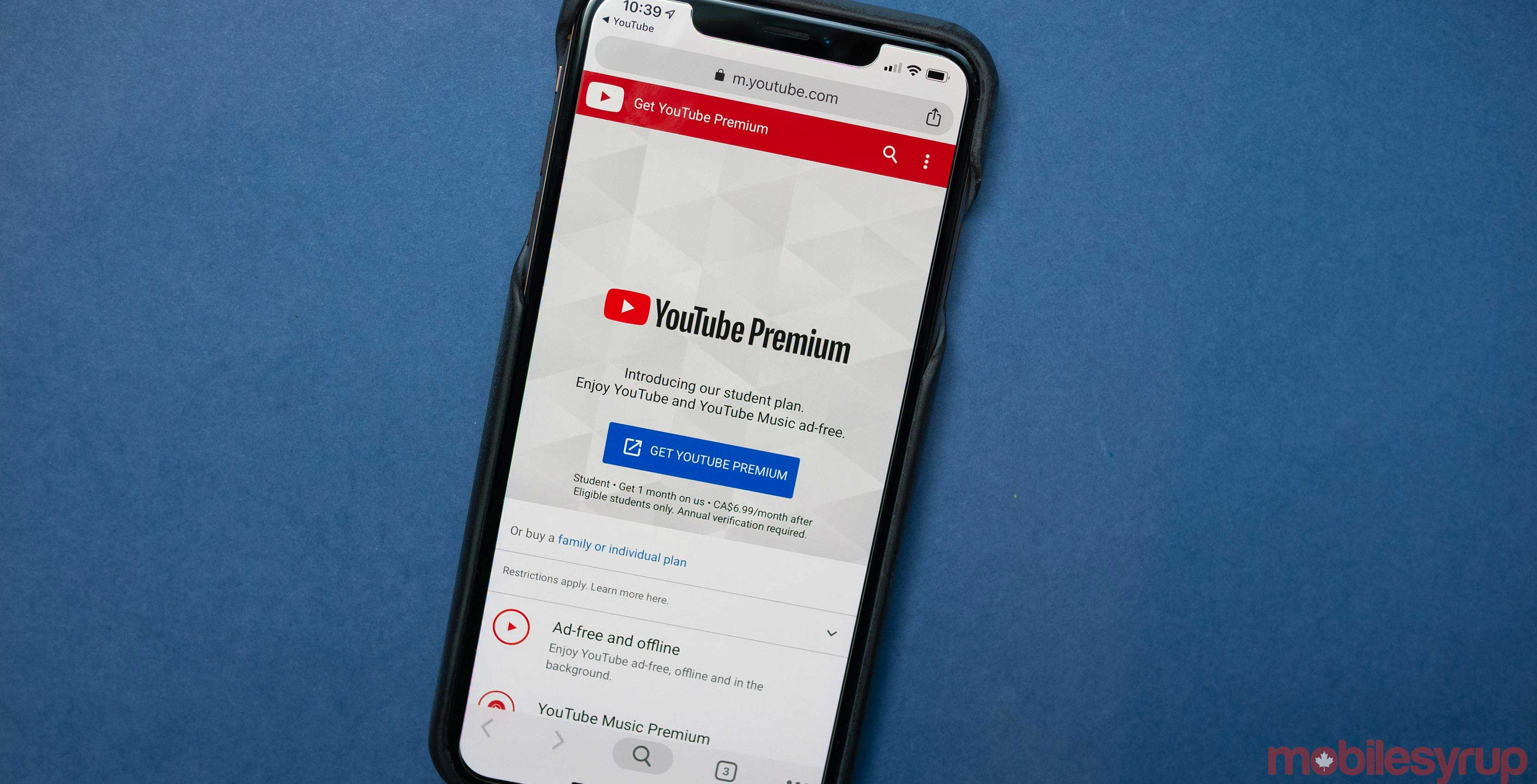 f85eeb7a5fc764 While YouTube Music and YouTube Premium have been available in Canada for a  number of months