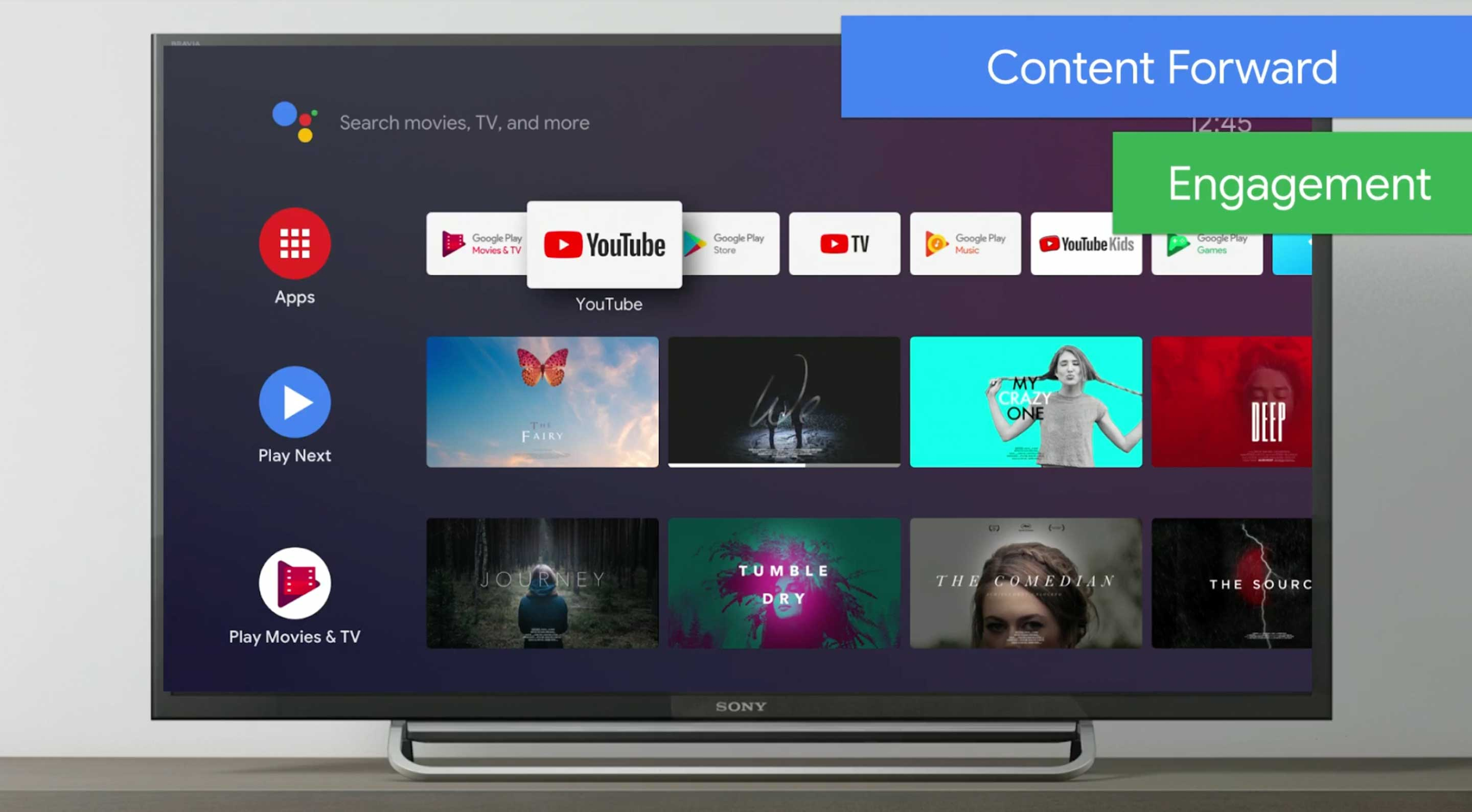 Google starts rolling out Play Store refresh for Android TV