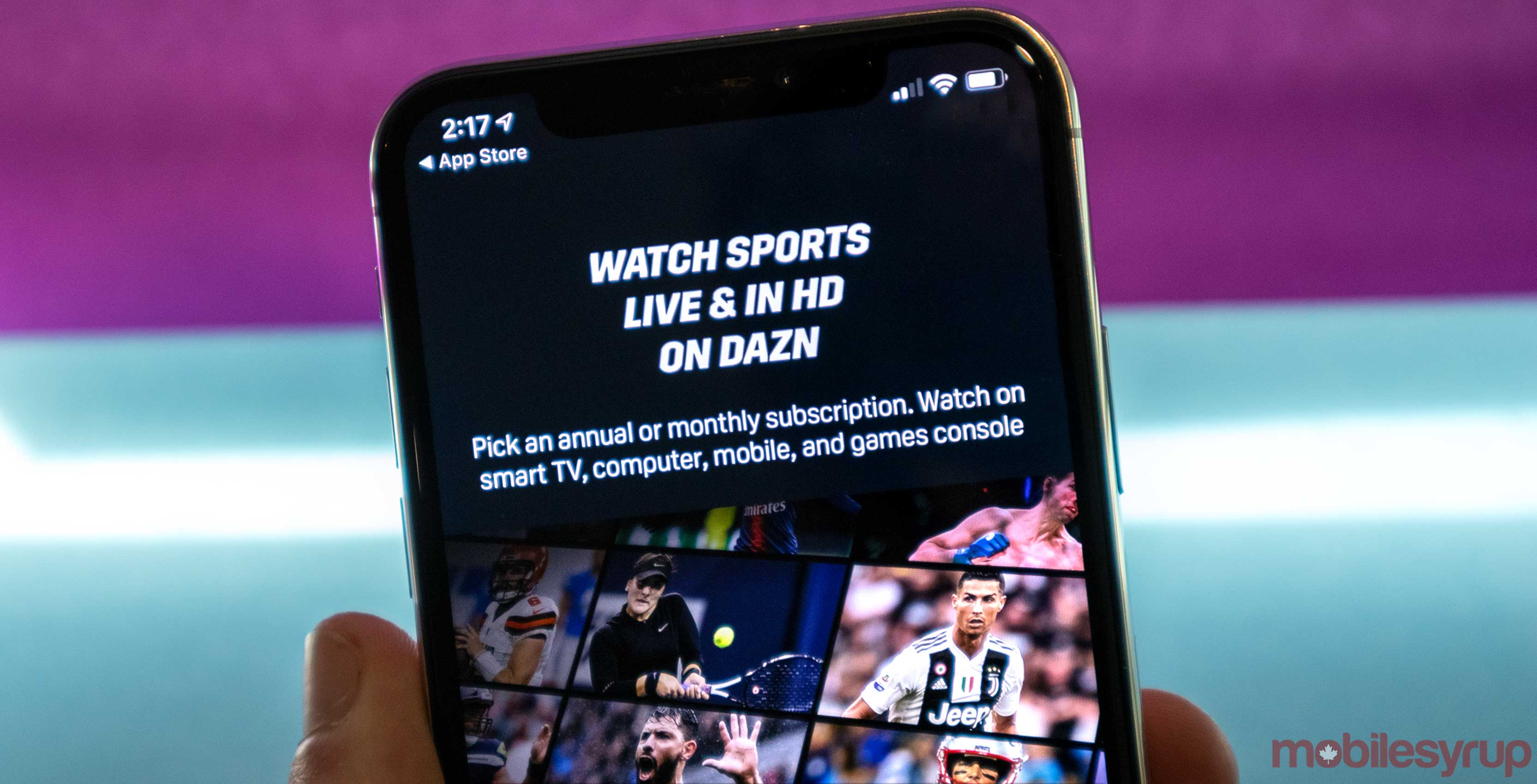 Here's what's coming to DAZN Canada in August 2019
