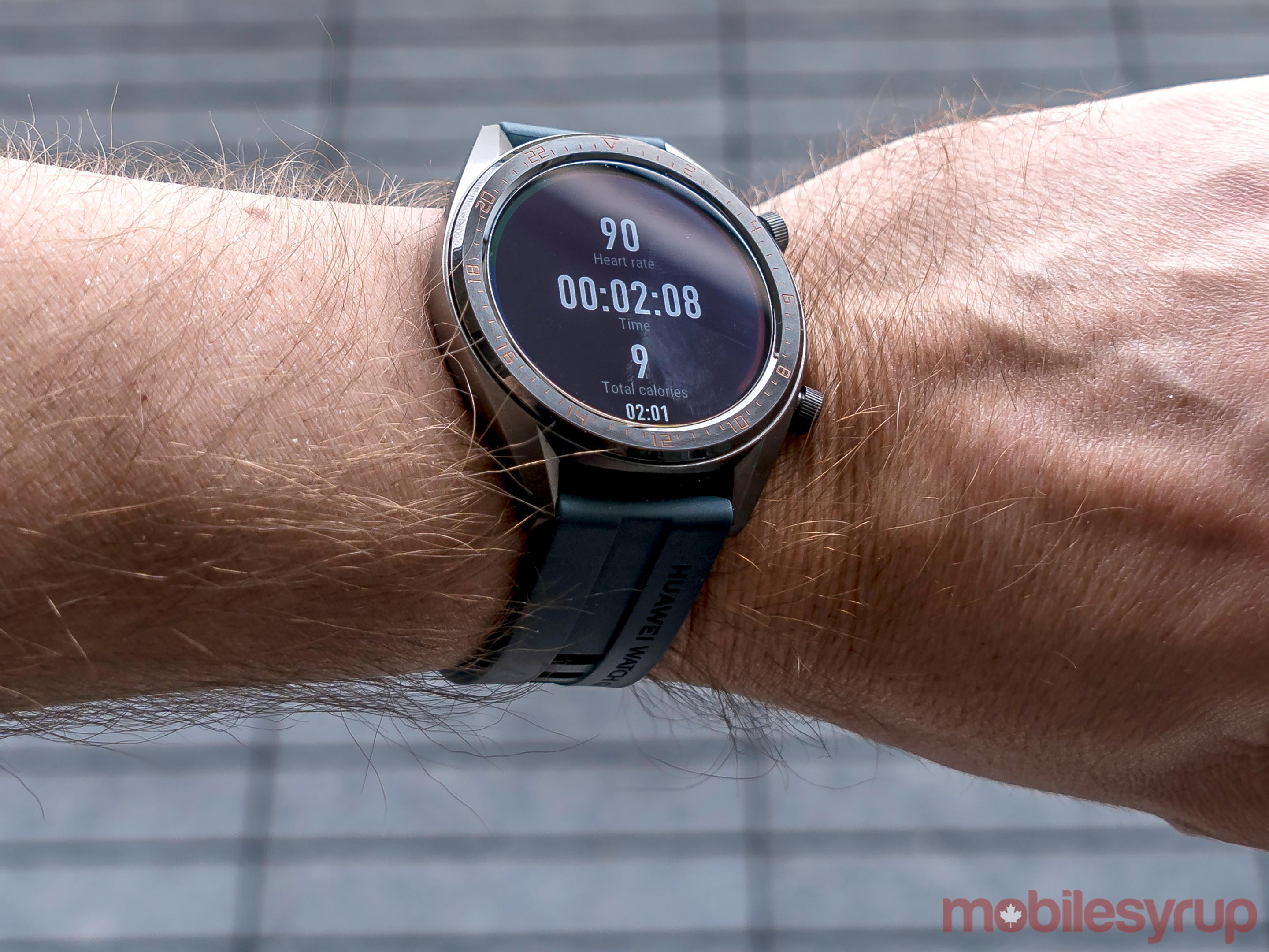 Huawei Watch GT exercise