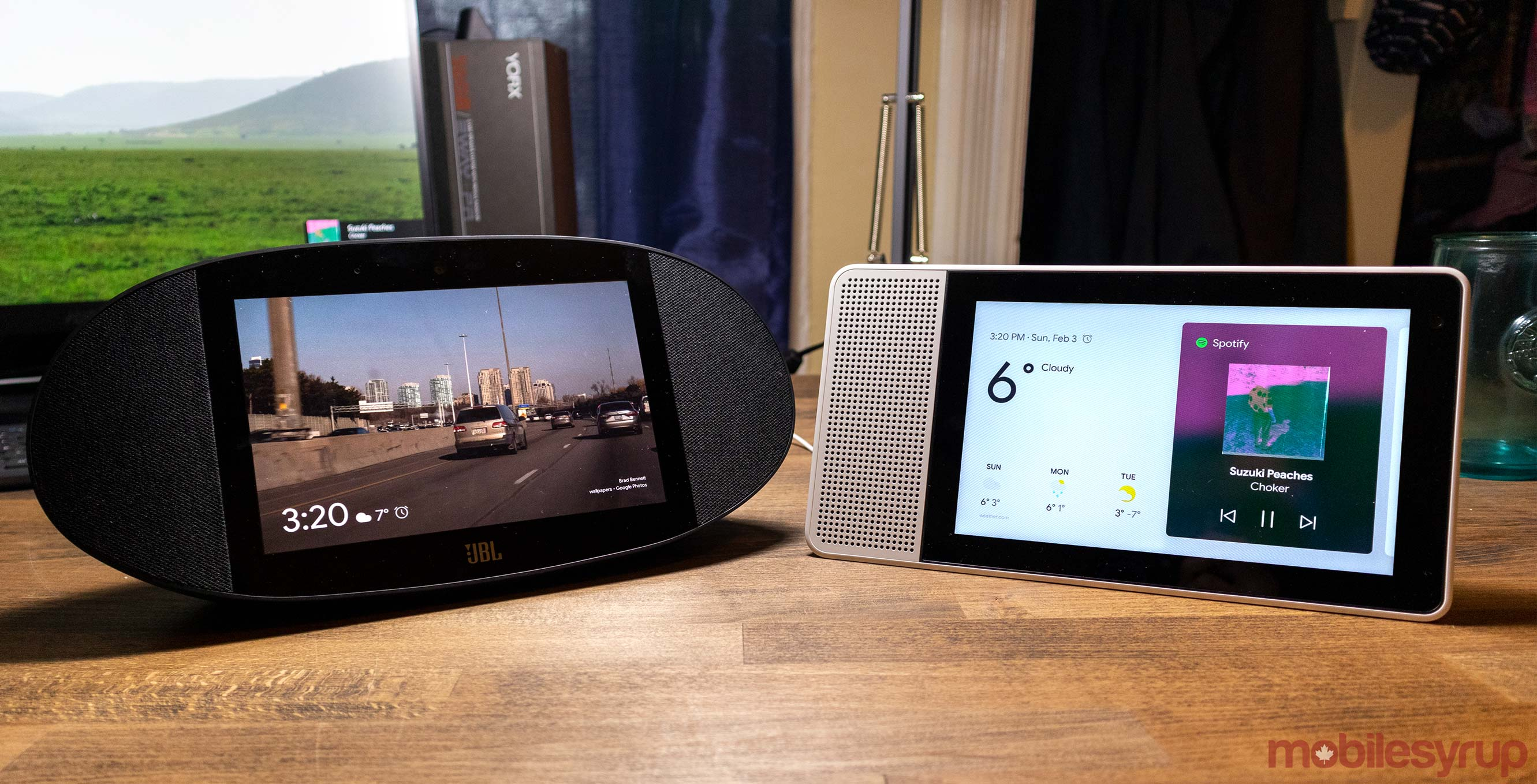 Lenovo Smart Display vs. JBL Link View: Which Assistant-powered smart speaker is best?