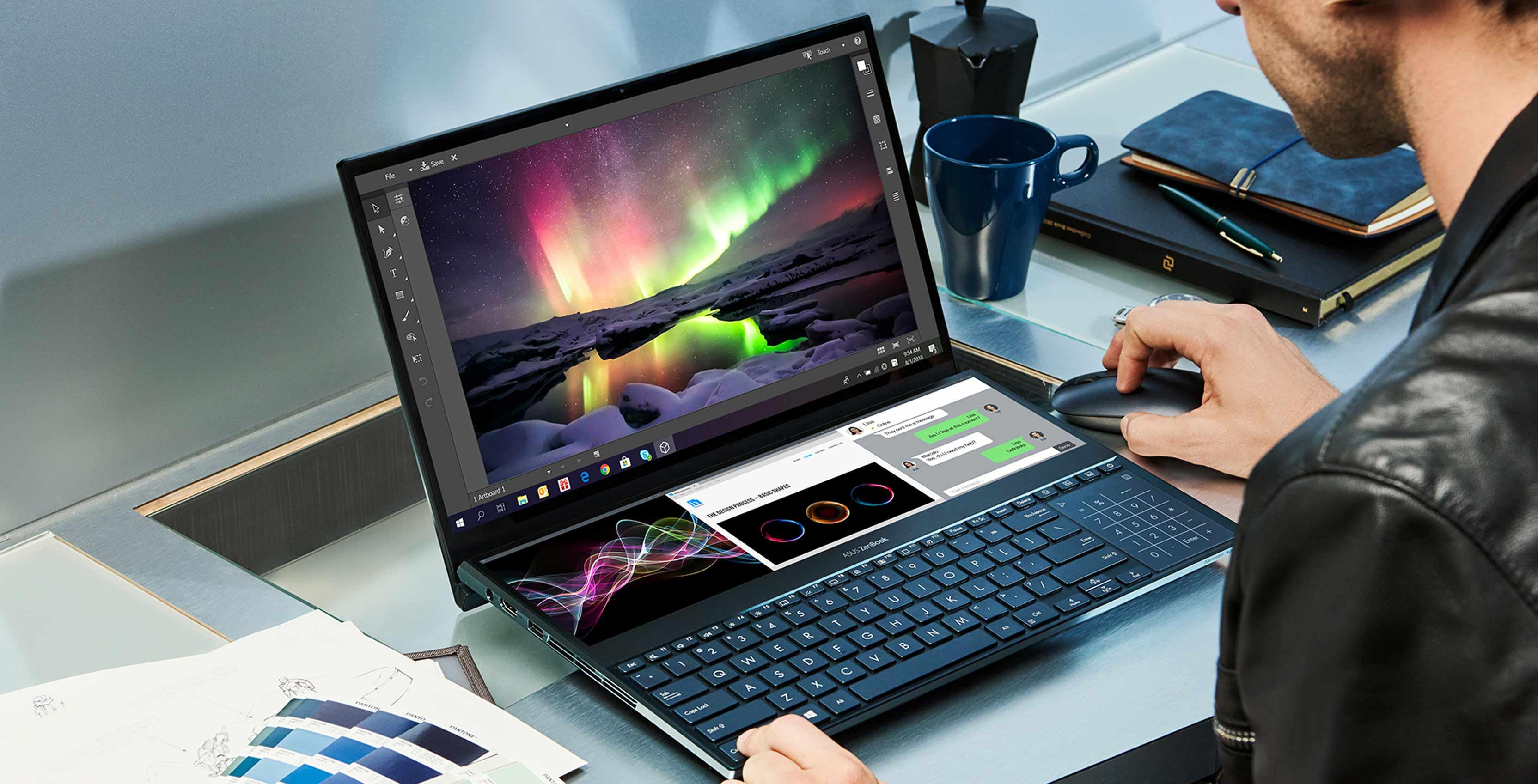 The Asus ZenBook Pro Duo