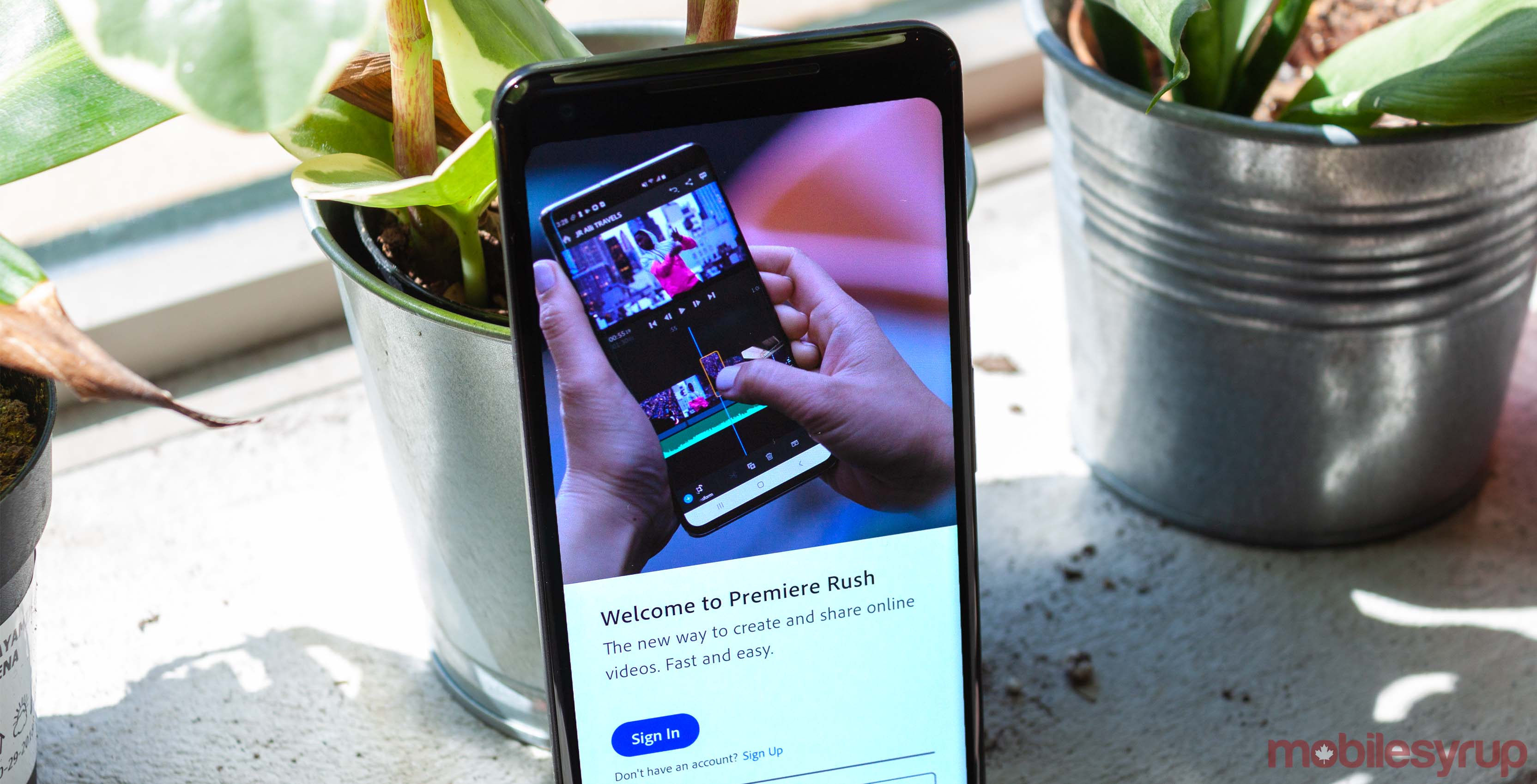 Adobe's simplified editing software Premiere Rush now available on Android