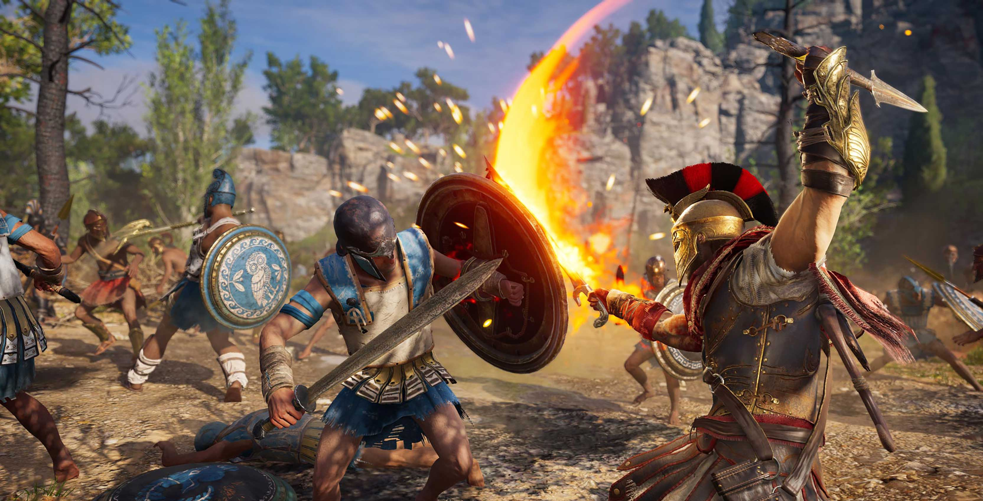 Assassin's Creed Odyssey combat