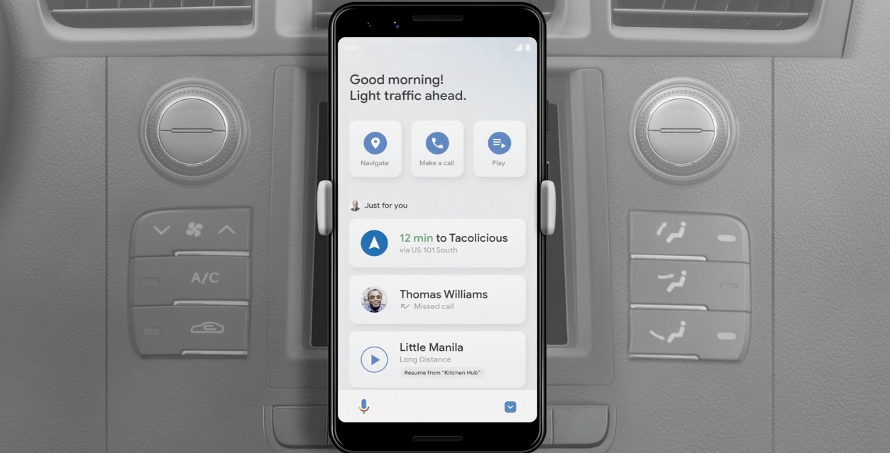 Google replaces phone version of Android Auto with 'Driving Mode'