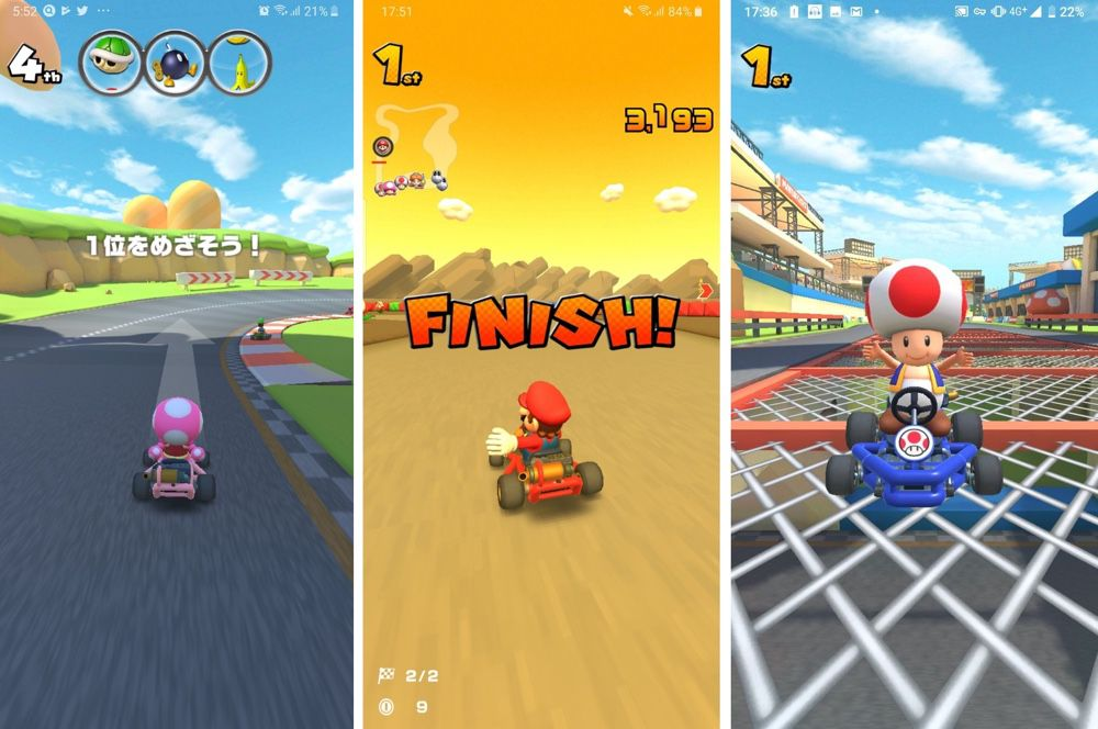 Mario Kart Tour Looks Like It Could Be Nintendo S First