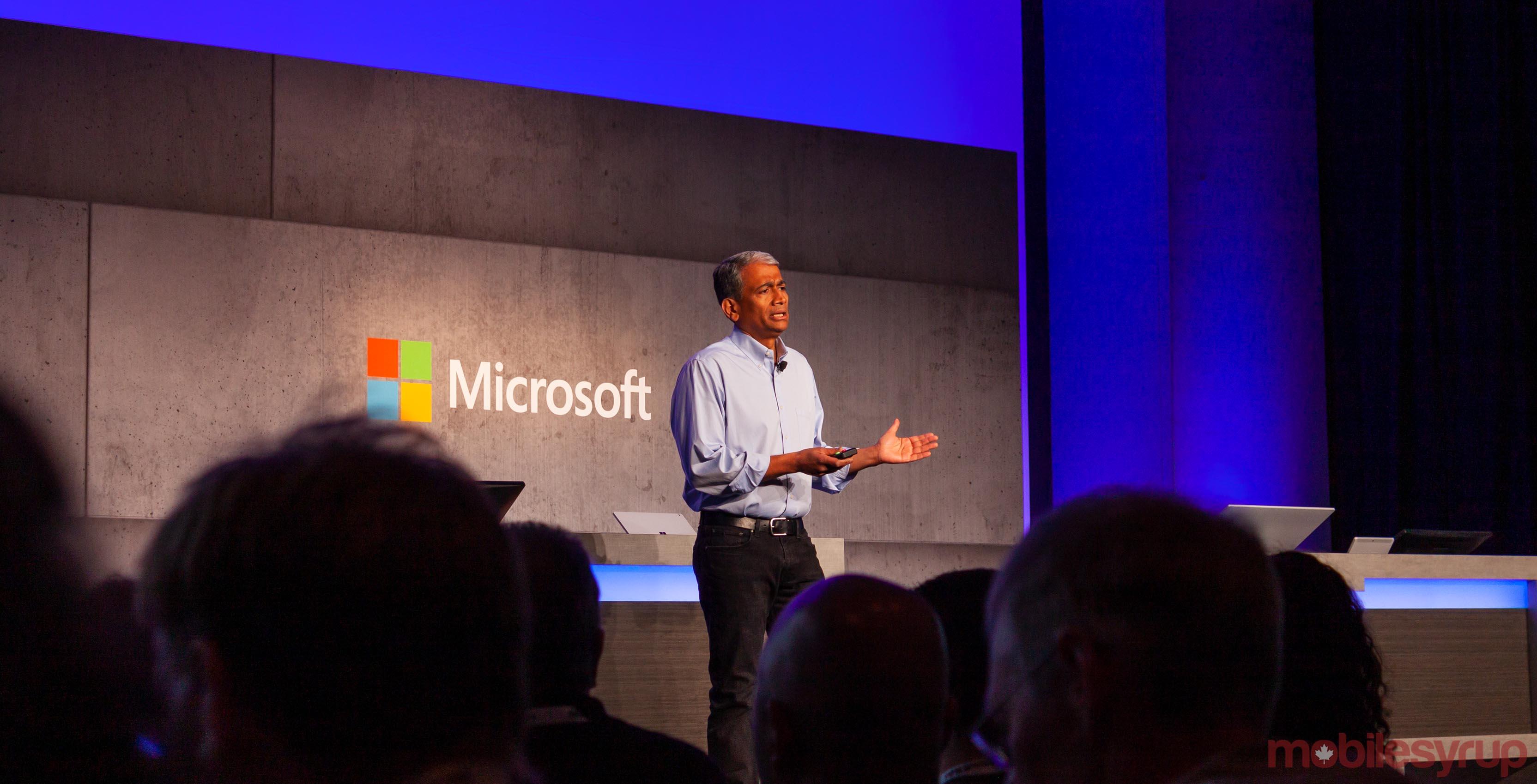 Microsoft executive vice president Rajesh Jha