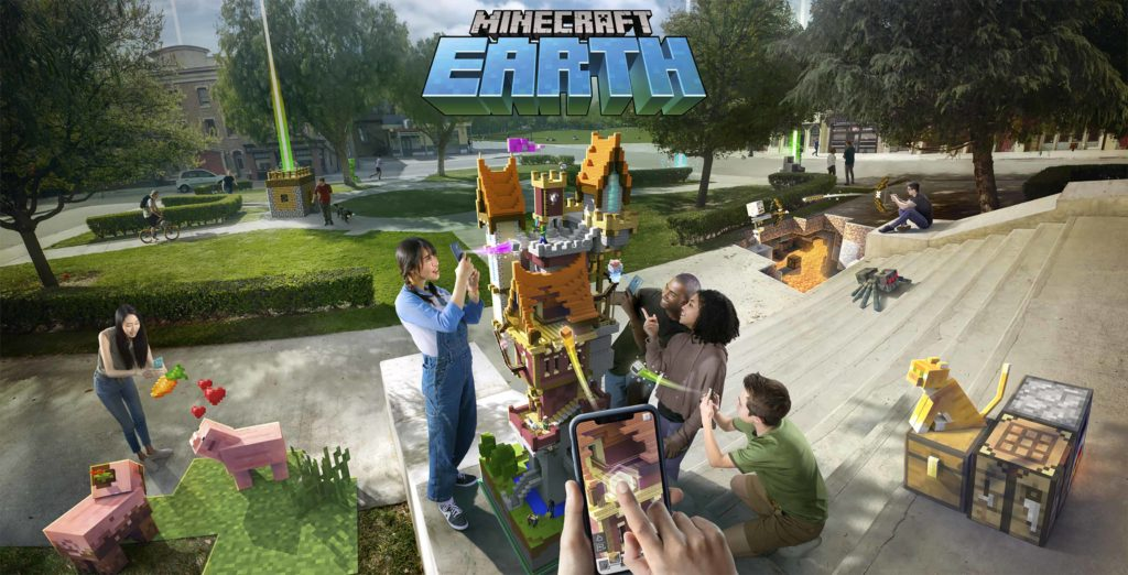 Minecraft Earth launches in early access on Android and iOS in Canada