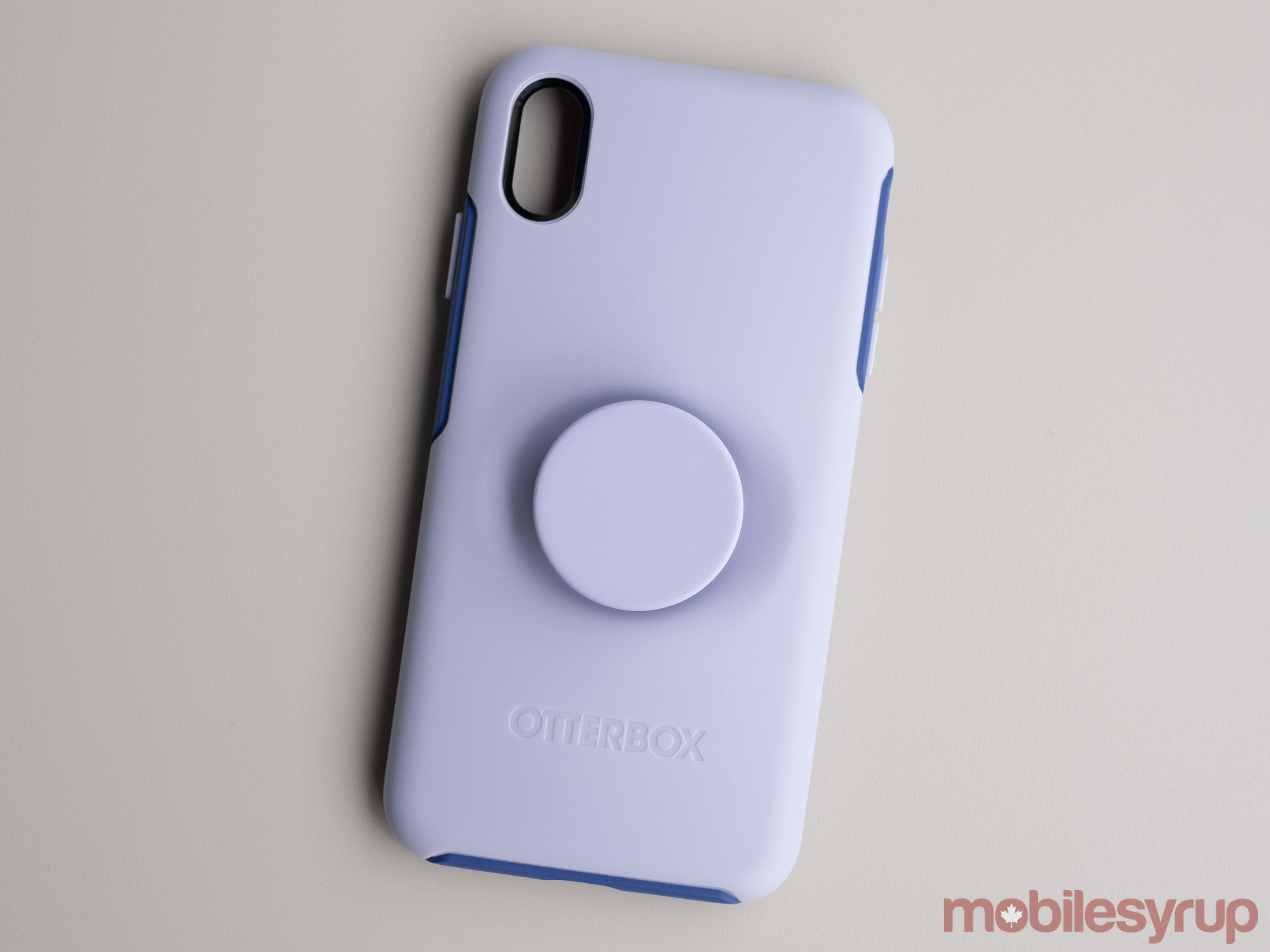 Otterbox Popsocket Puple case