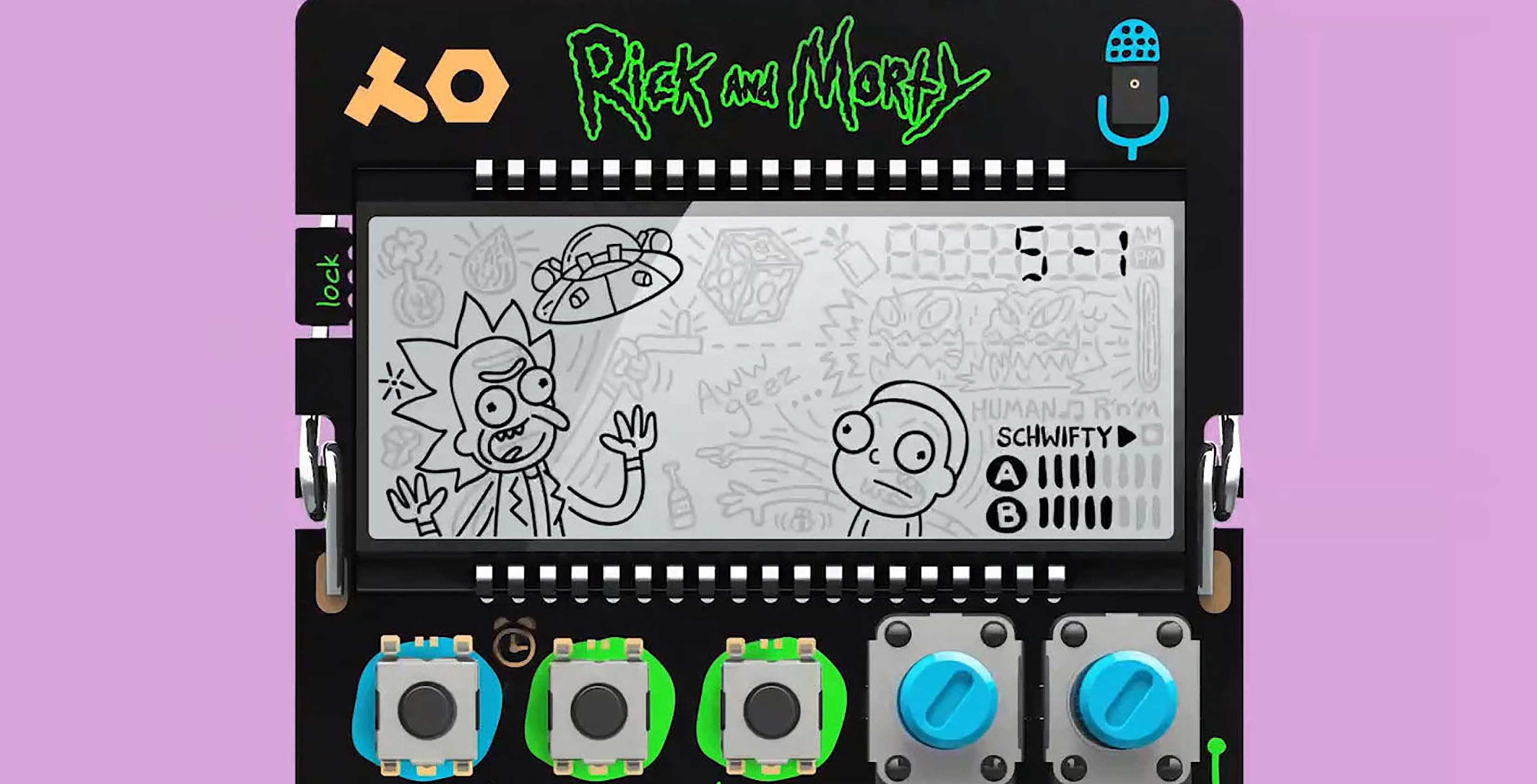 Rick and Morty vocal synthesizer