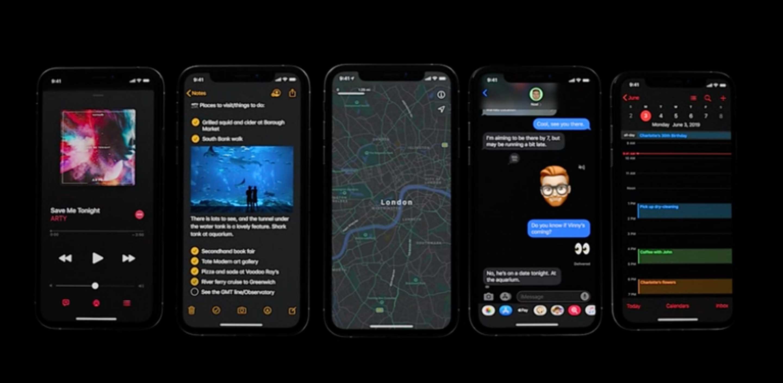Apple adds Dark Mode to iOS 13