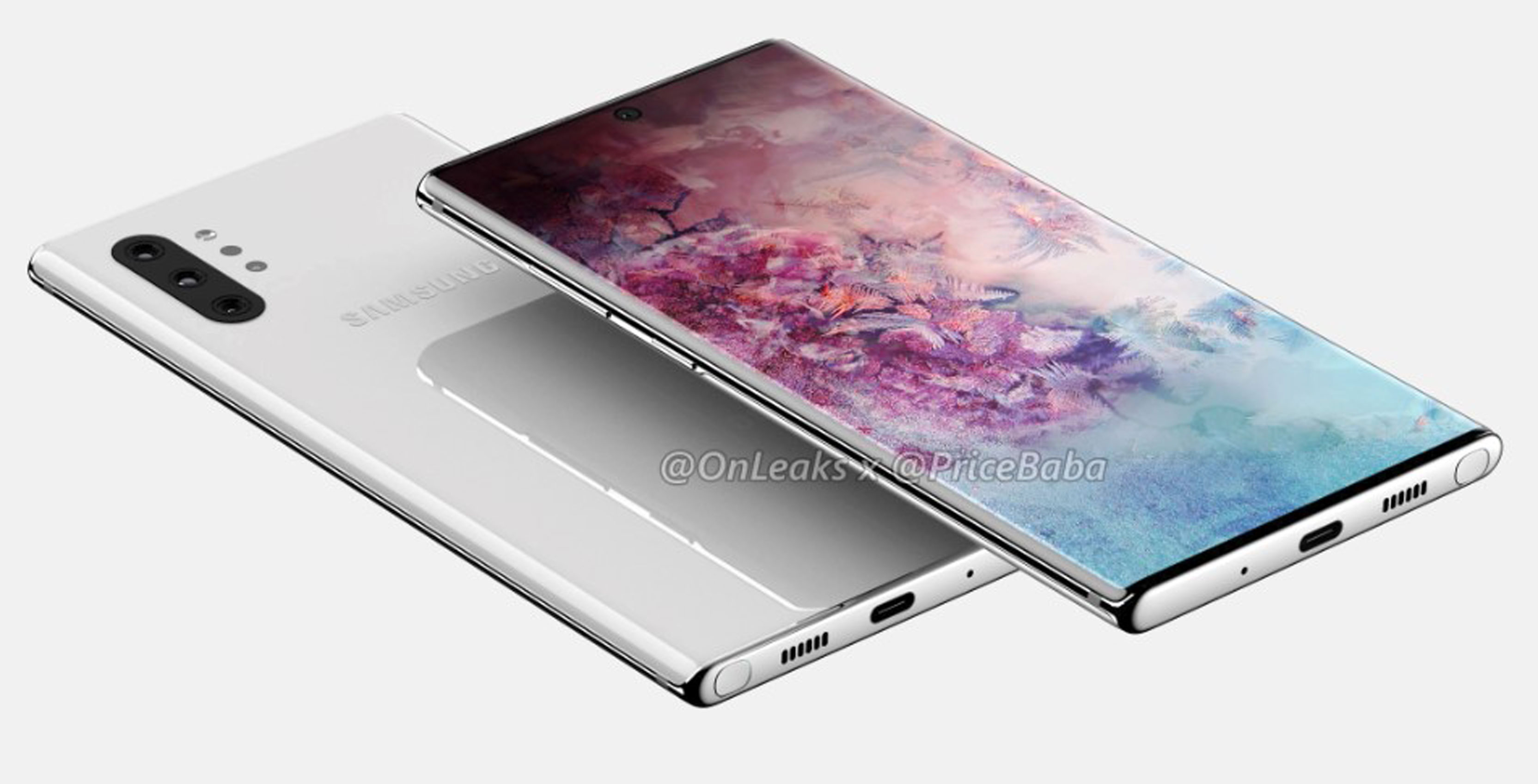 Note 10 Pro leaked render