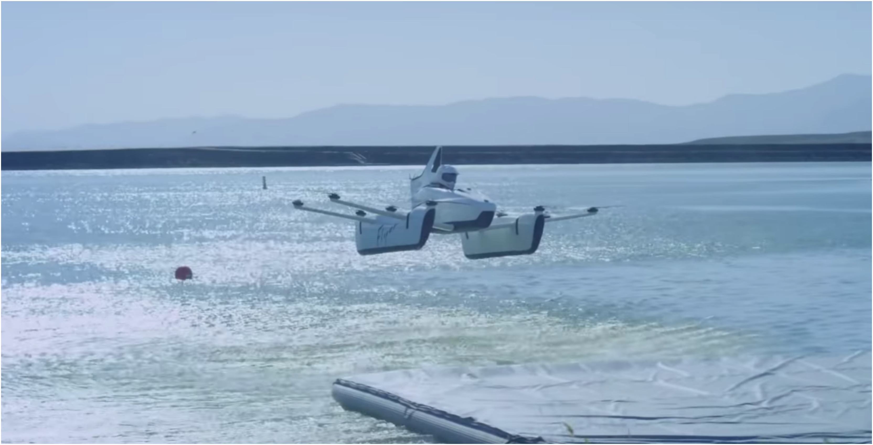 Kitty Hawk's 'Flyer' is an aircraft that takes 15 minutes to learn how to fly