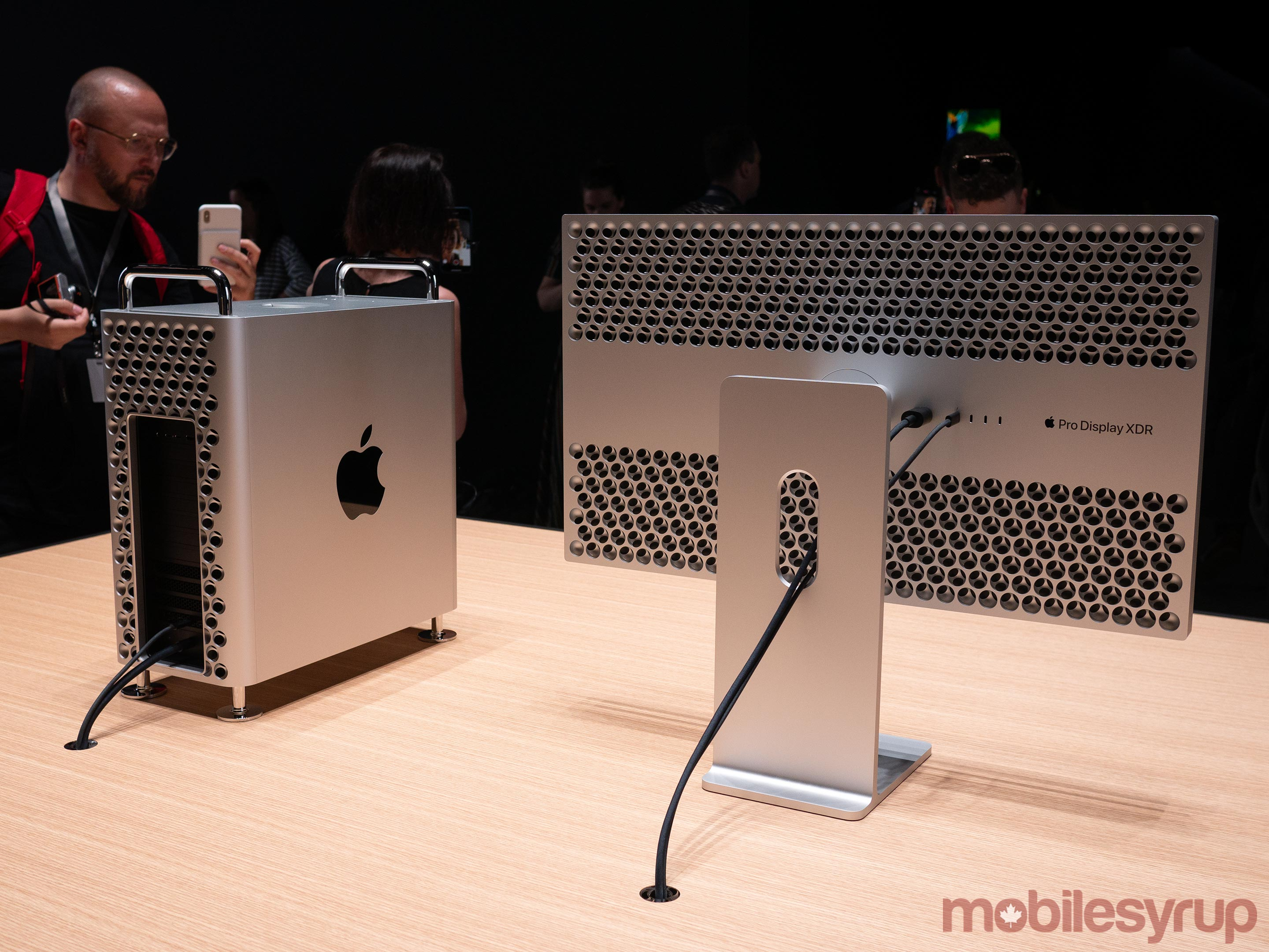 Mac Pro and XDR Monitor Rear