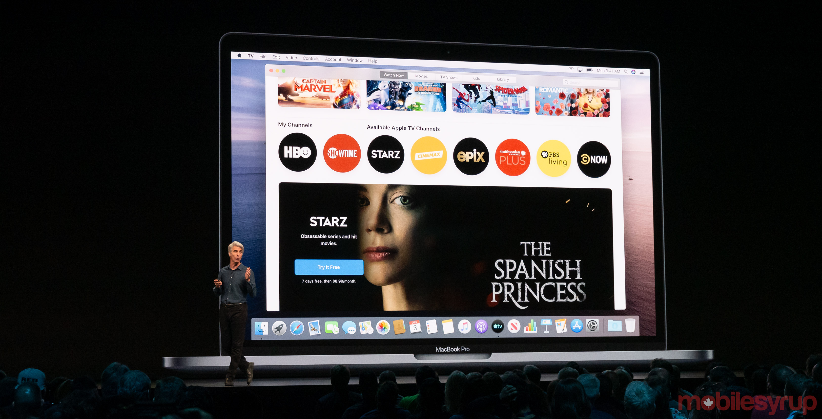 Apple unveils MacOS Catalina allowing users to use iPads as a second display and more