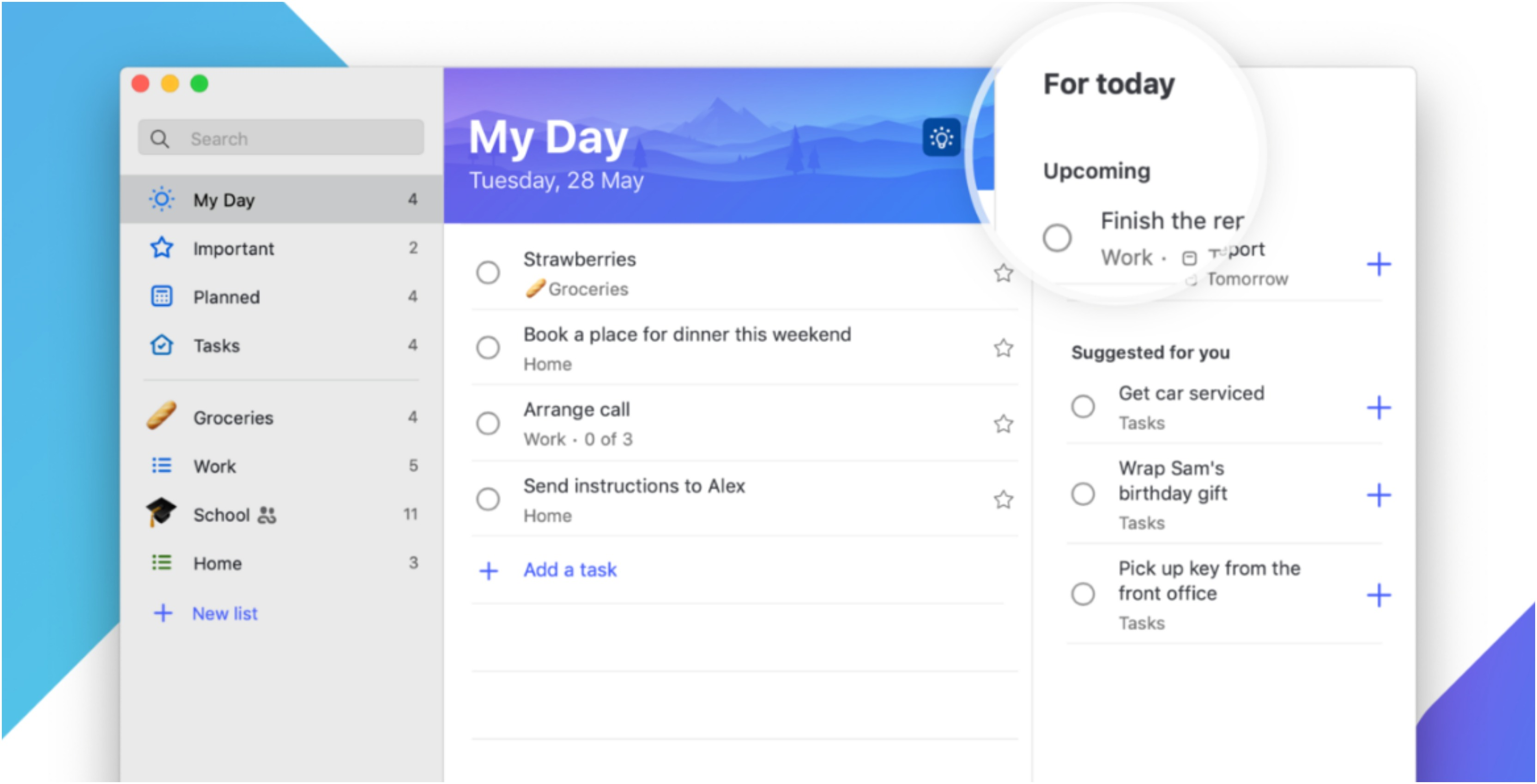 Microsoft releases its 'To-Do' app in the Mac App Store