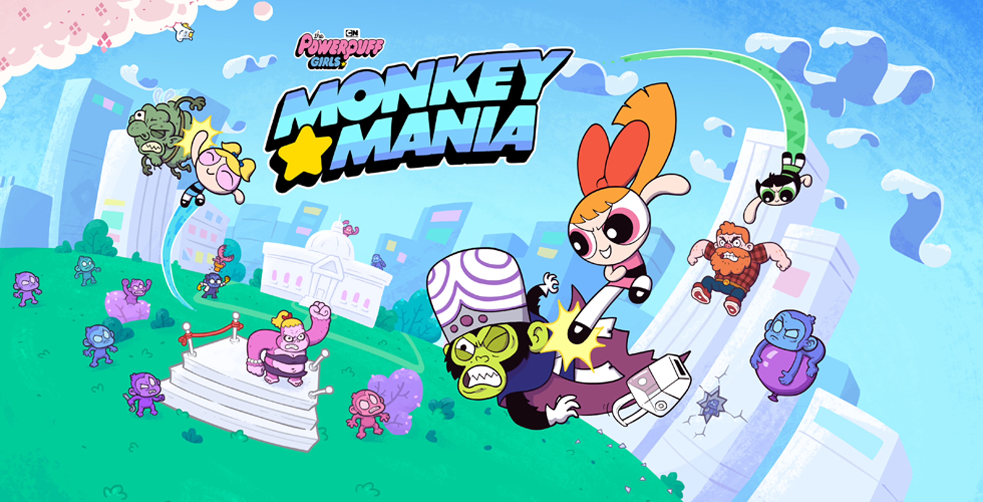 e2c1f11ad59 Publishing company Kongregate is partnering with Cartoon Network and game  developer Juicy Beast to launch mobile game The Powerpuff Girls: Monkey  Mania.