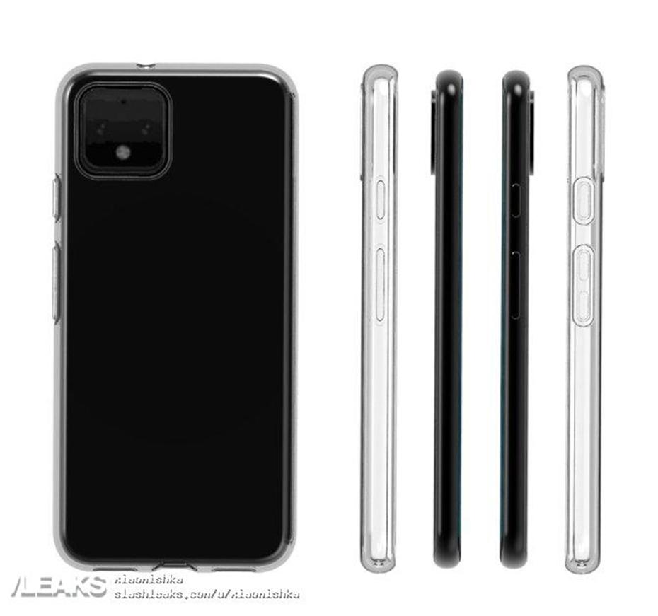 Pixel 4 case render