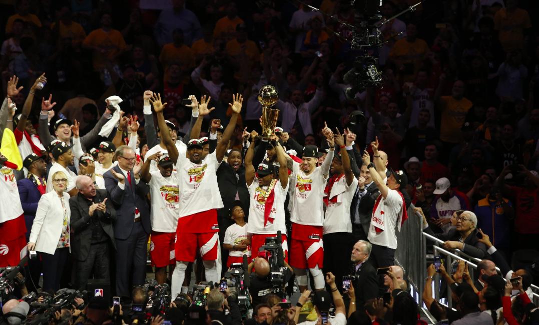Apple celebrates Toronto Raptors NBA championship with website Easter egg