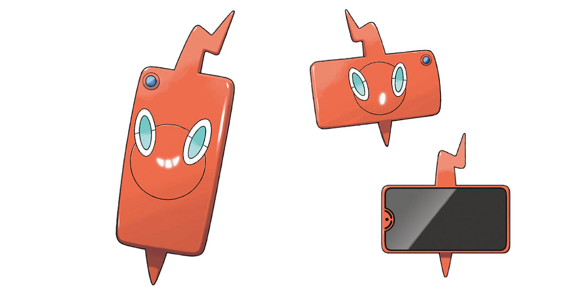 premium selection 44e25 dfb89 Unreleased Rotom Phone features a Pokédex and a notch