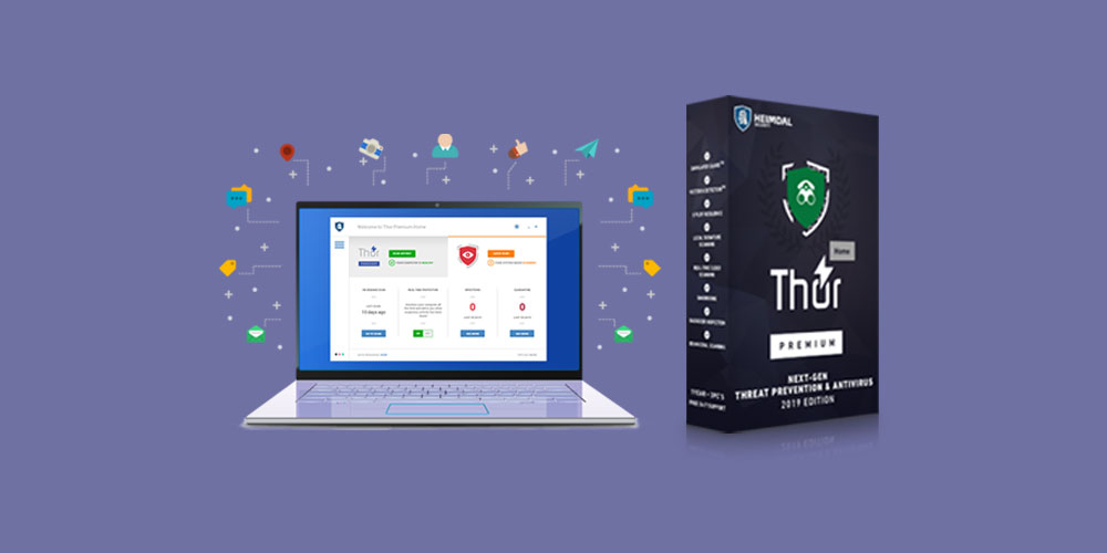 Protect your system from exploits with Heimdal Thor Premium Home Antivirus